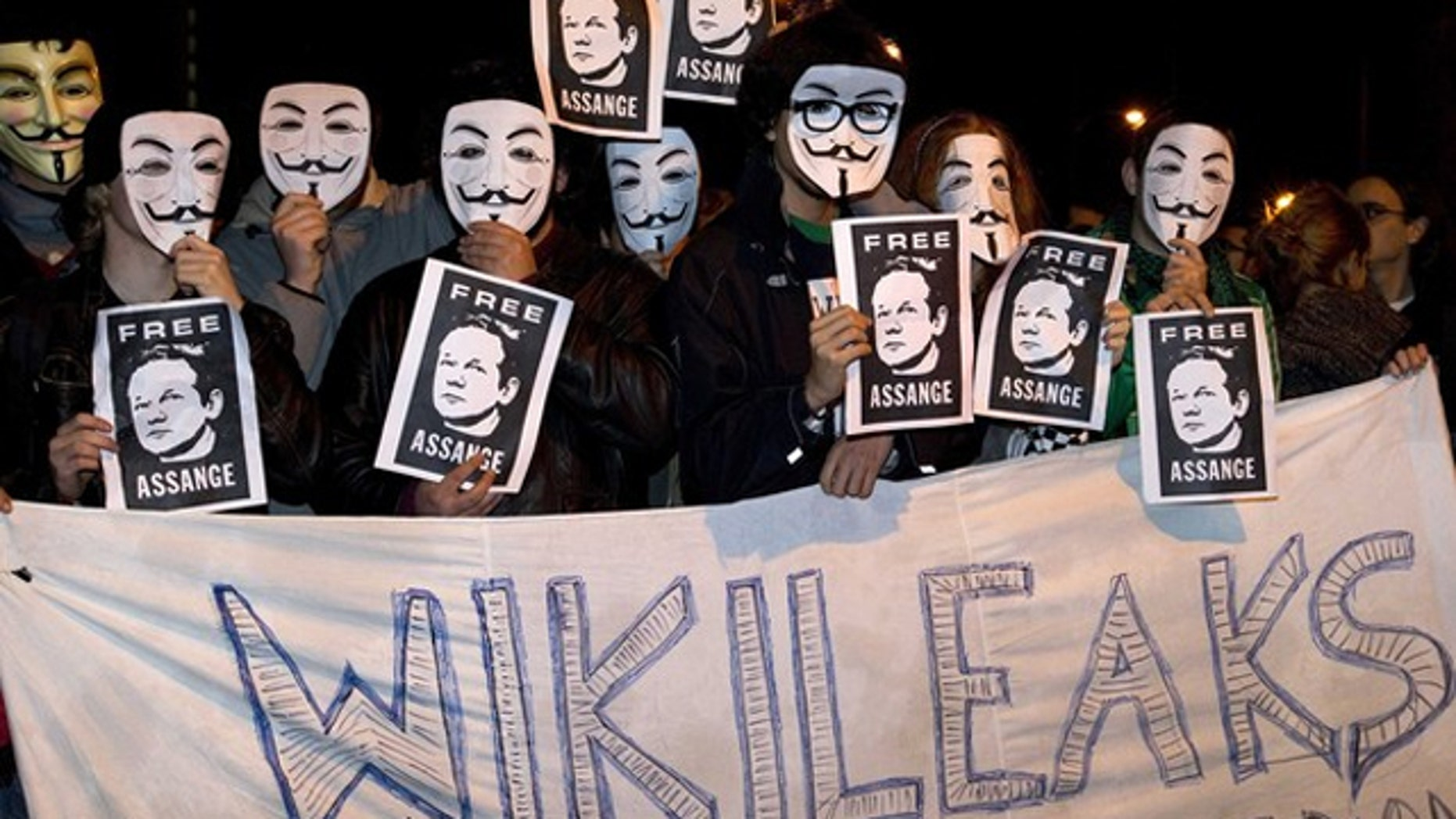 """The """"Anonymous"""" group went from being outspoken supporters of WikiLeaks and Bradley Manning to """"hacktivist"""" attacks against various corporate and government websites."""