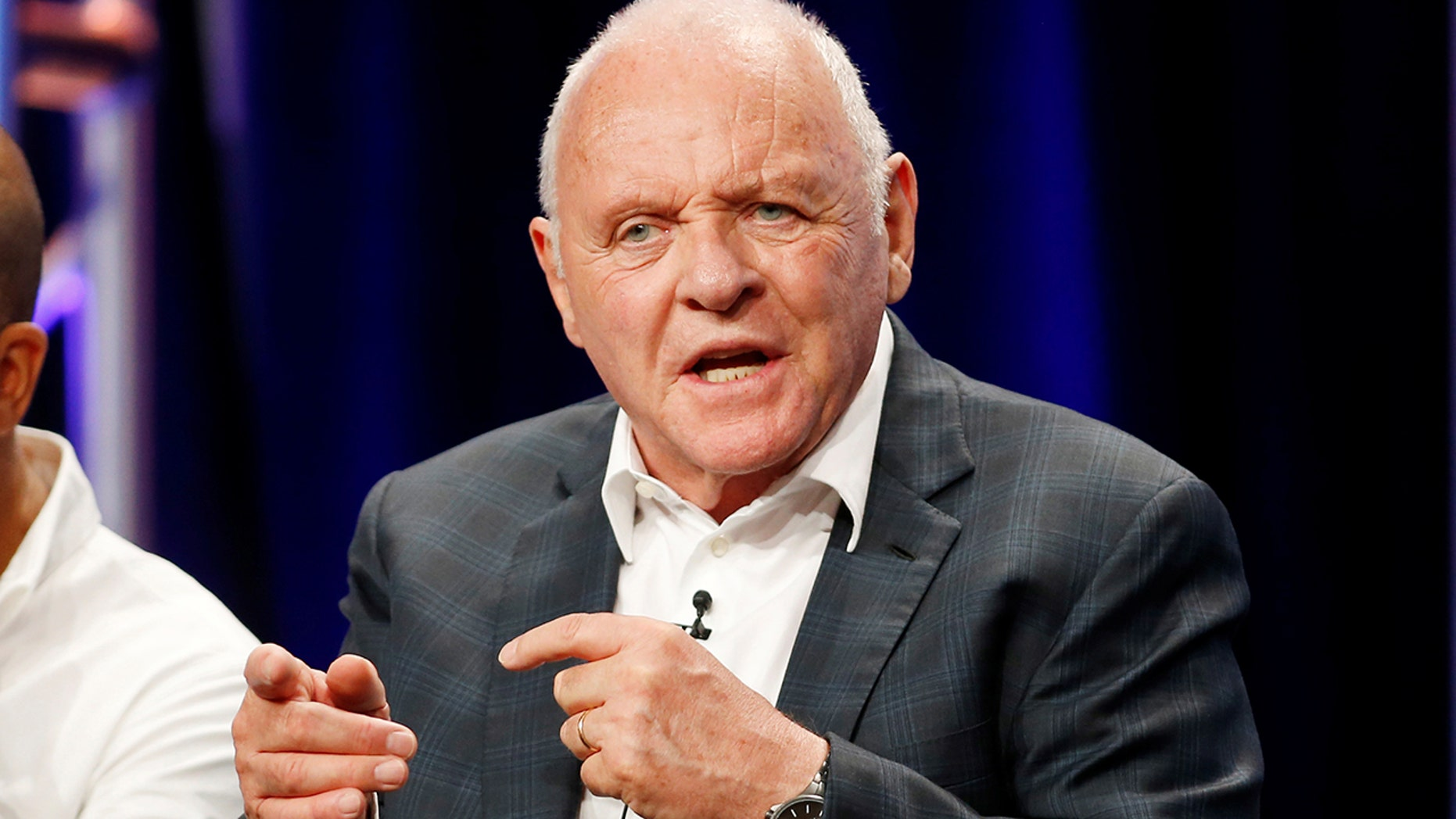 Anthony Hopkins shares daughter Abigail with his first wife Petronella Barker.