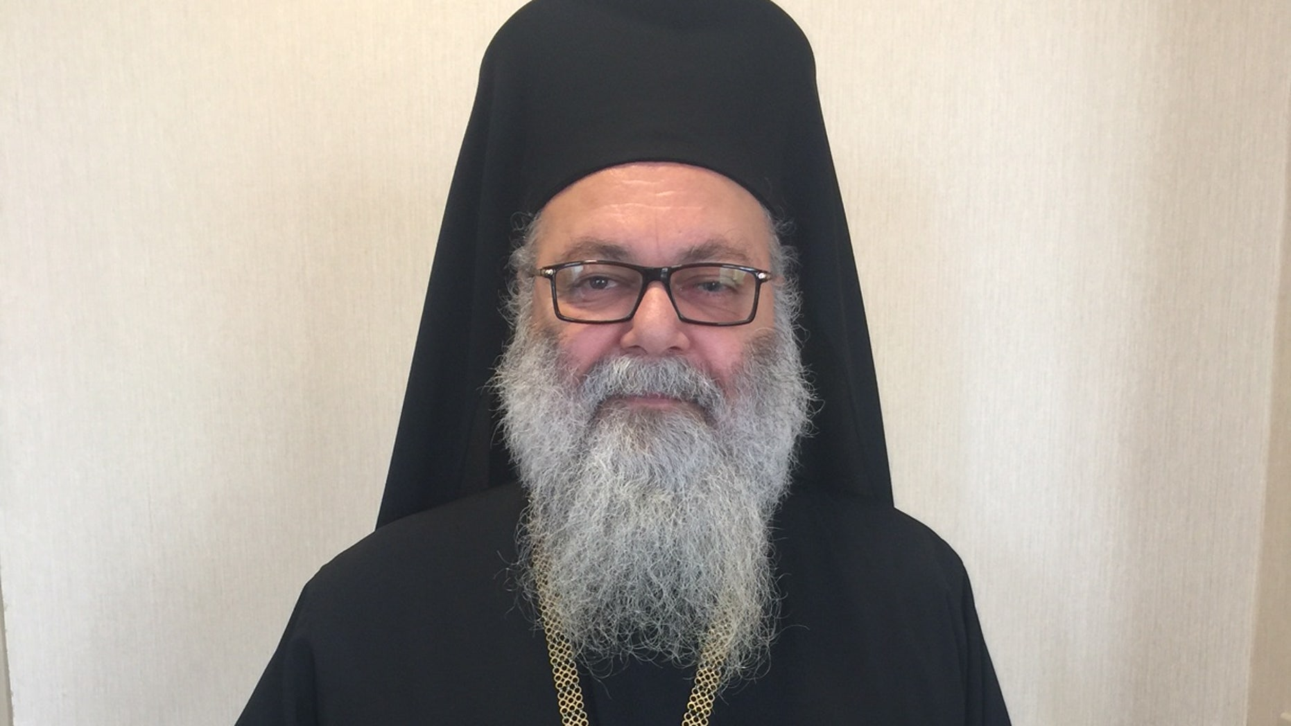 His Beatitude John X, the Damascus-based leader of the Antioch Christian Church