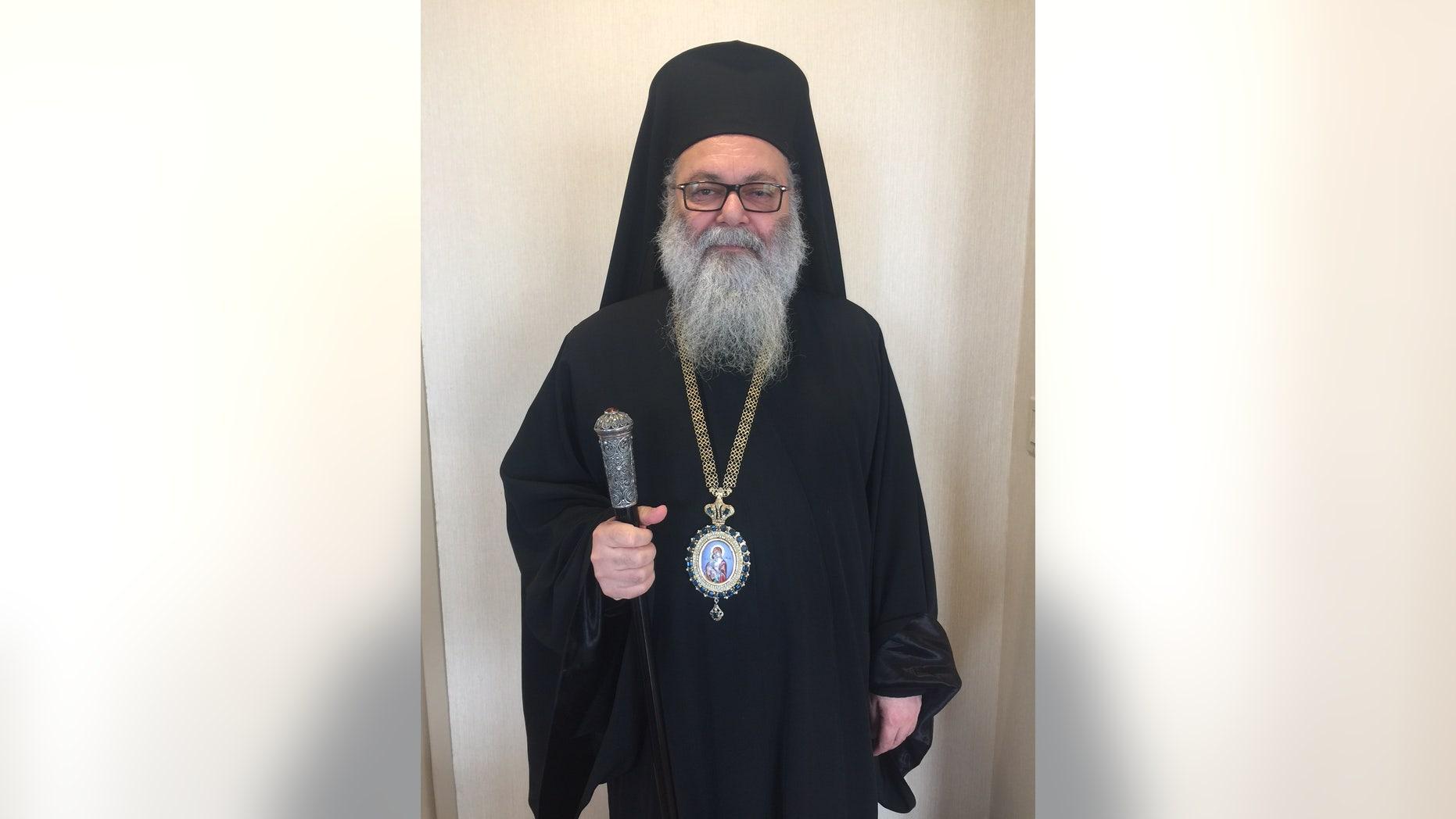 His Beatitude John X, the Damascus-based leader of the Antioch Christian Church