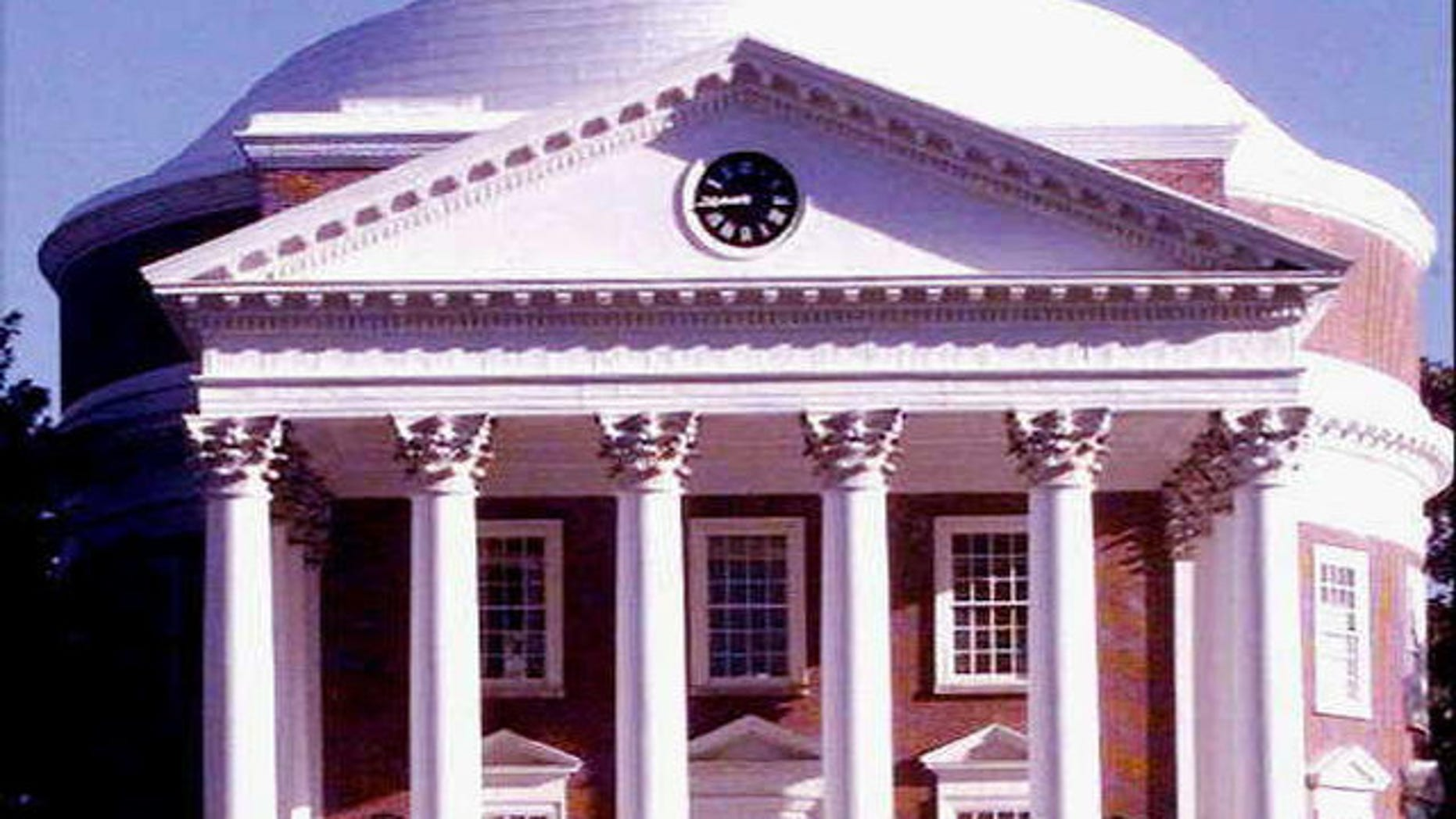University of Virginia building on campus