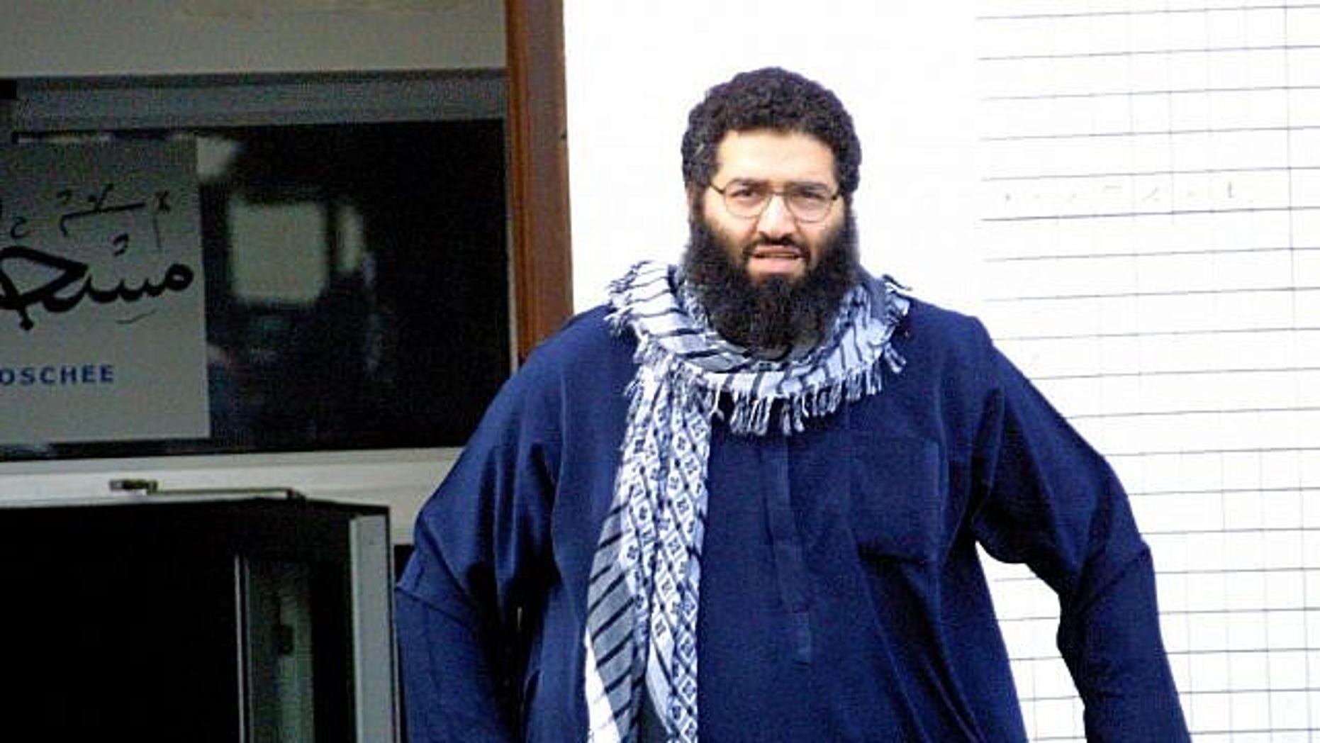 Oct. 3, 2001: Mohammed Haydar Zammar leaves a mosque in Germany.