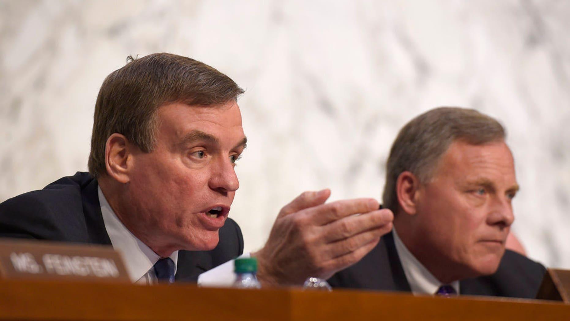 Sen. Mark Warner is the Senate Intelligence Committee's vice chair and top Democrat.