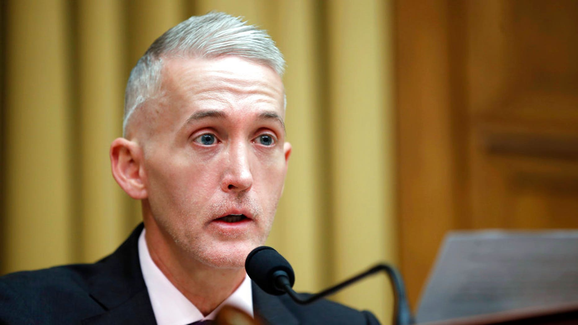 Rep. Trey Gowdy, R-S.C., has been tapped to lead the House Oversight panel.