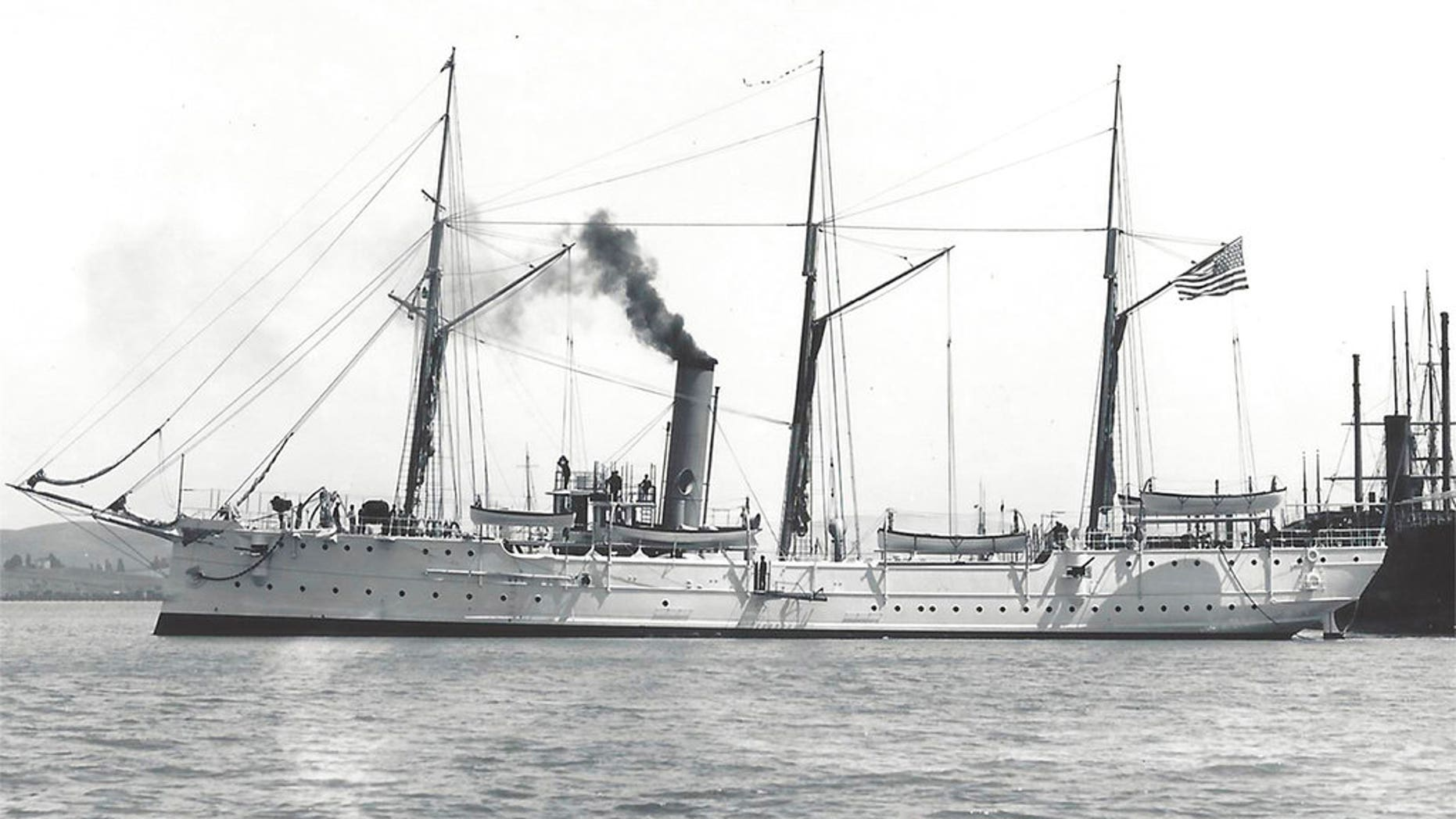USCGC Cutter McCulloch was launched in 1896 and set out to sea during the Spanish-American War.