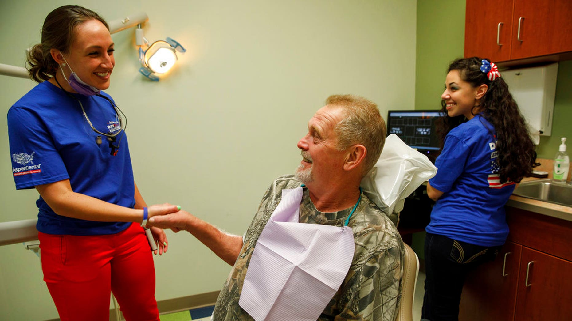 """Veterans nationwide received free dental care as part of Aspen Dental's """"Healthy Mouth Movement."""""""