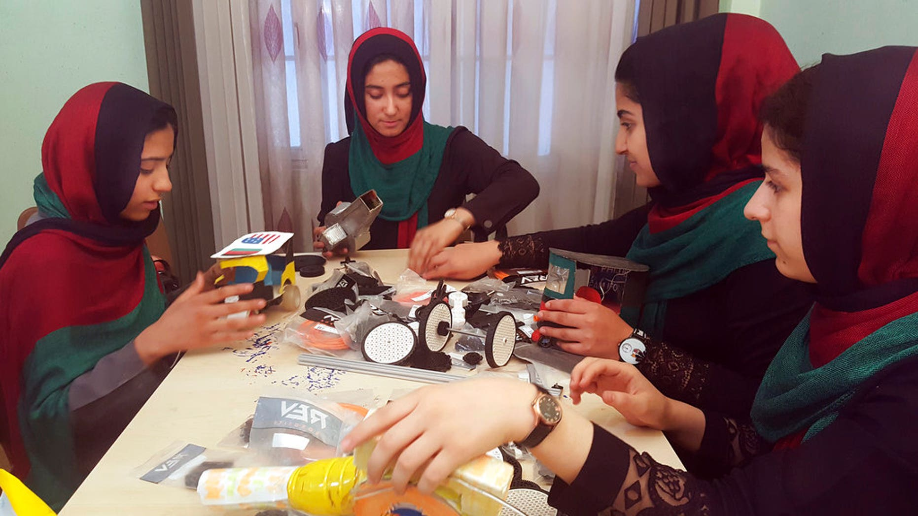 A group of six Afghan girls will be able to attend a robotics competition in Washington, D.C. next week after President Trump intervened.