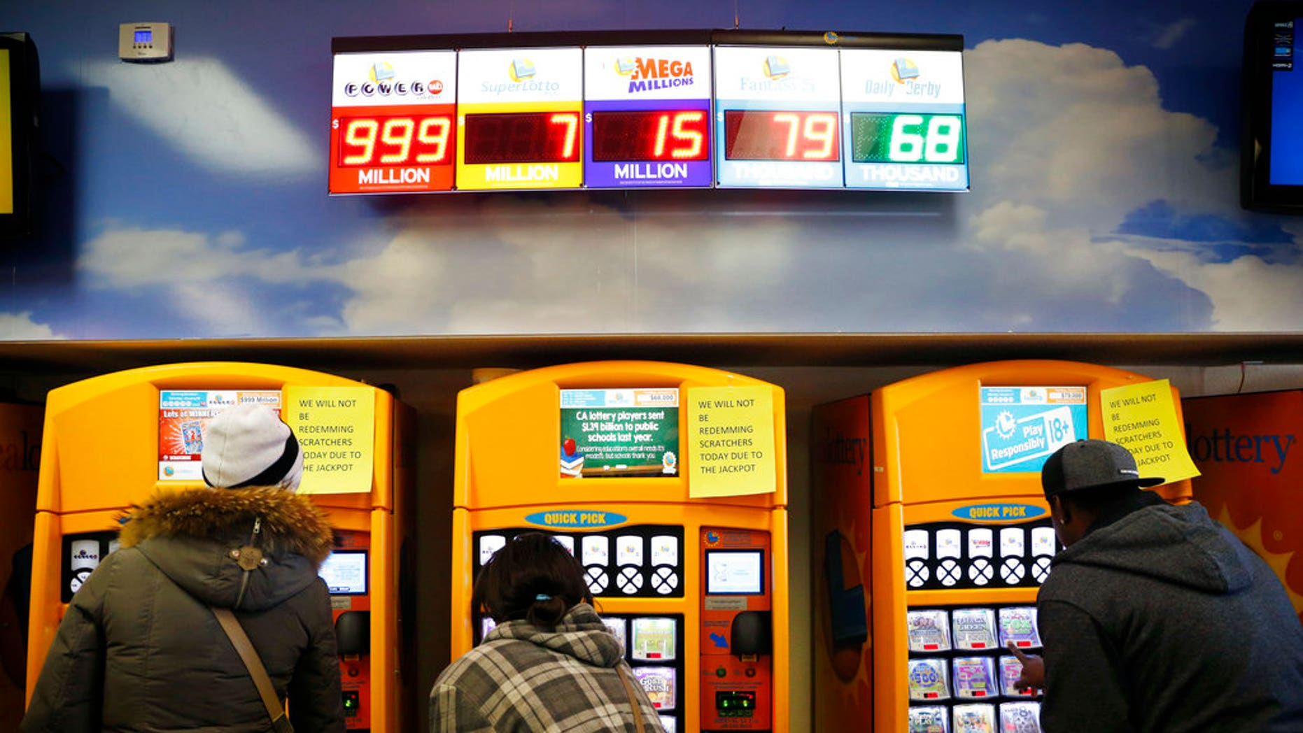 A 19-year-old in California won the lottery twice in one week.