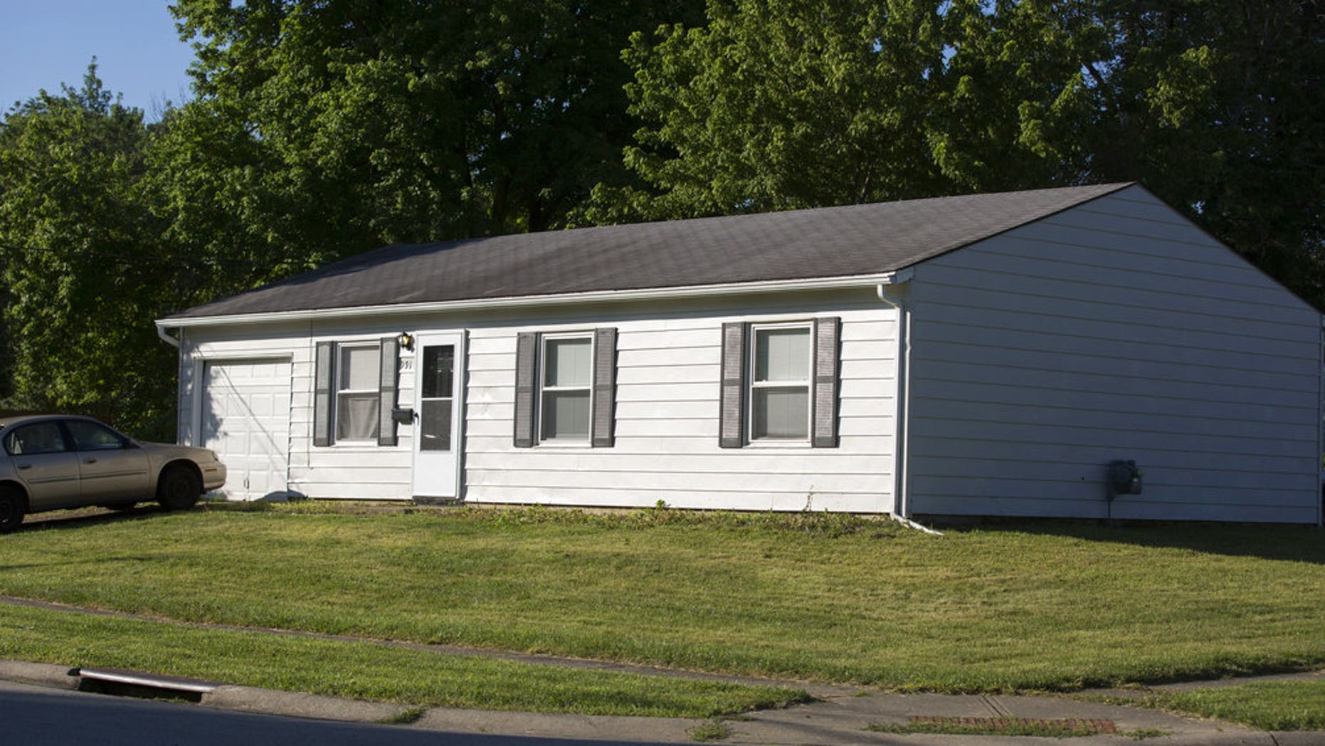 The home in Colerain Township that was the scene of a deadly shooting on July 8.