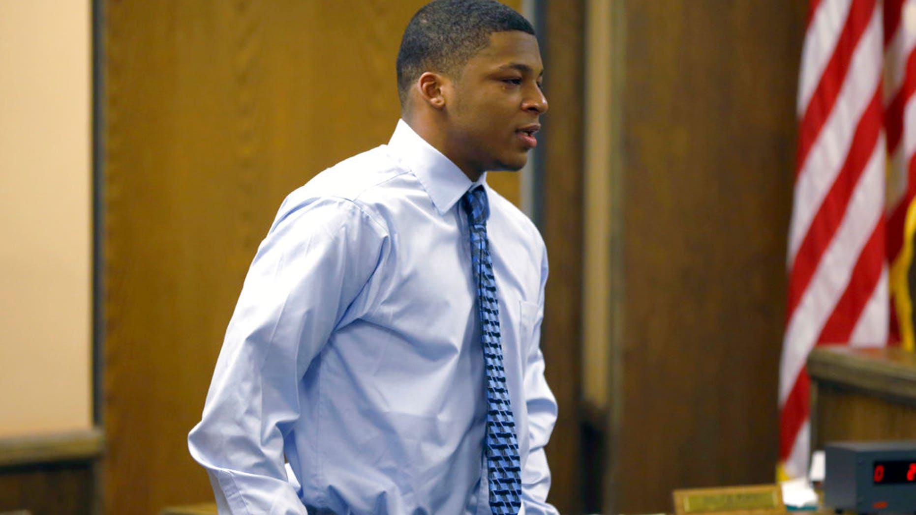 Ma'Lik Richmond, a Steubenville High School football player convicted of raping a teenage girl in 2012.