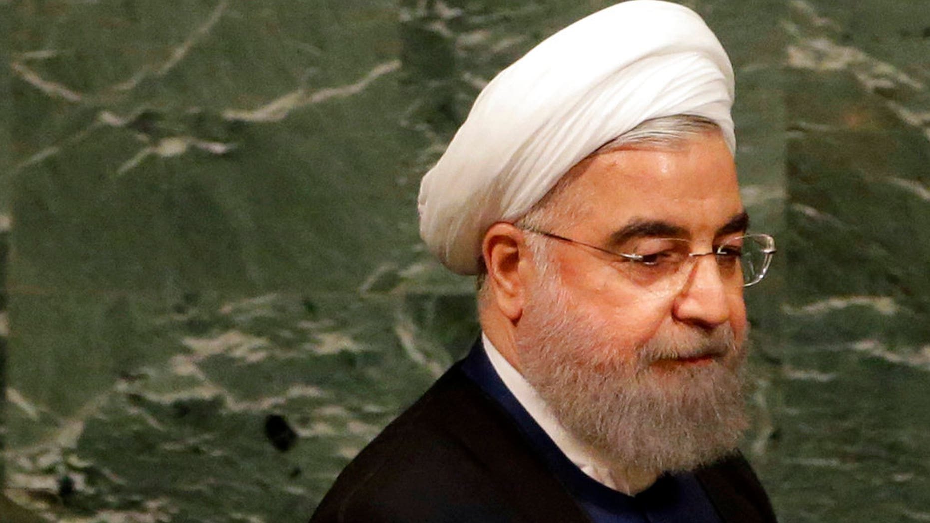 """Iranian President Hassan Rouhani has warned the U.S. of """"grave"""" consequences should President Trump decide to withdraw from the nuclear deal."""