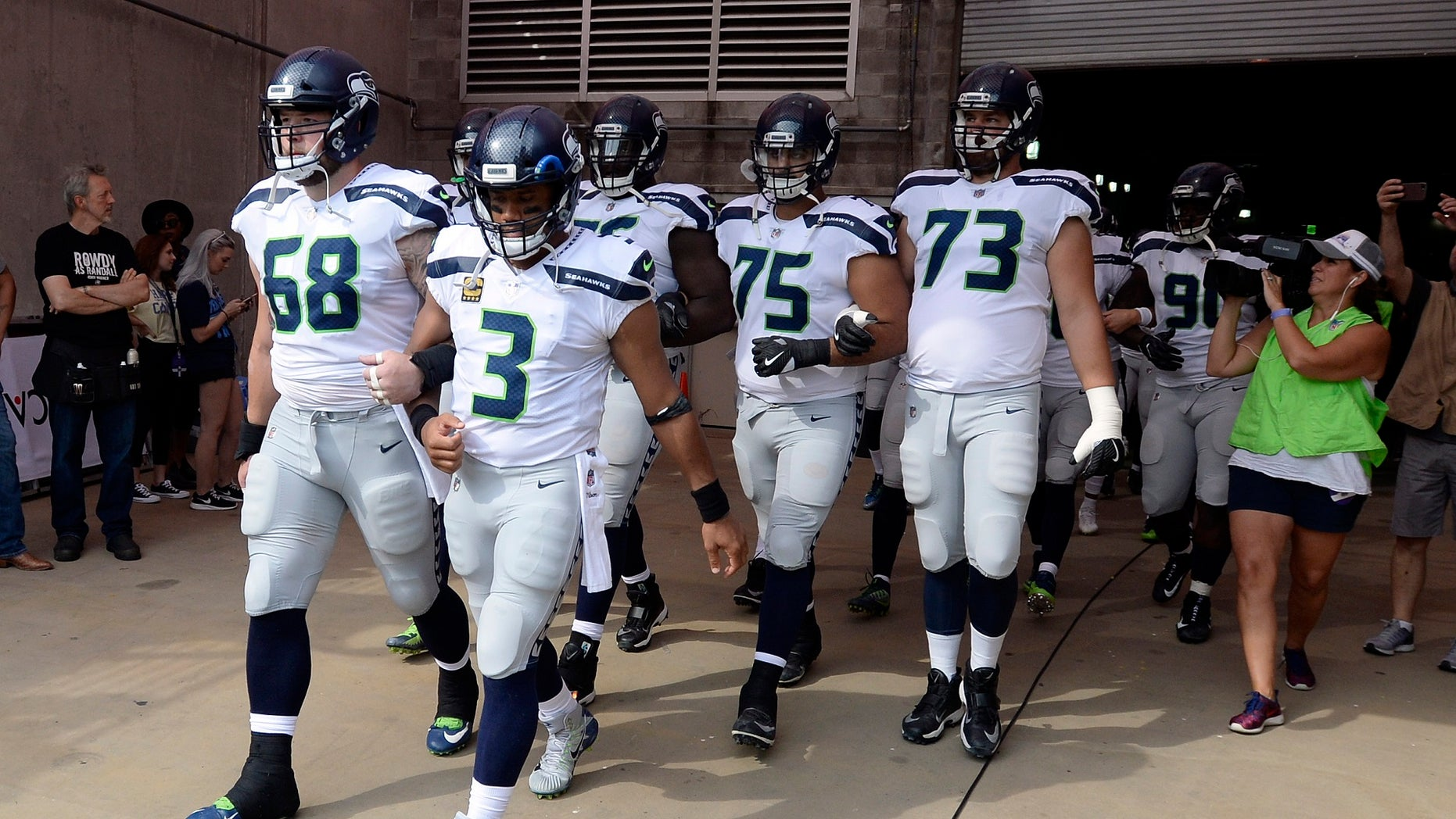 """The Seattle Seahawks announced Friday the creation of the """"Seahawks Players Equality & Justice for All Action Fund."""""""