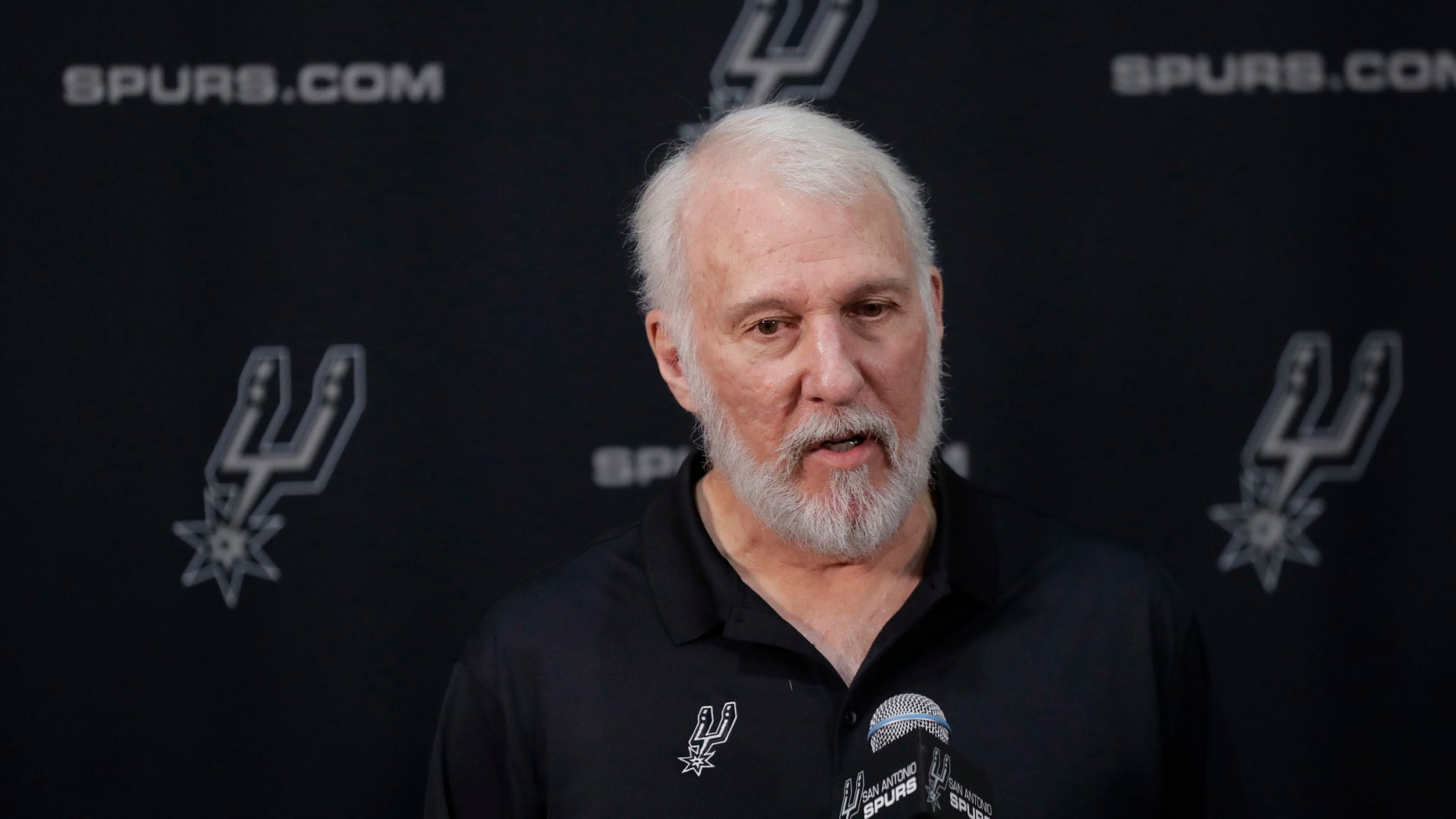 San Antonio Spurs coach Gregg Popovich sounded off Monday against President Trump