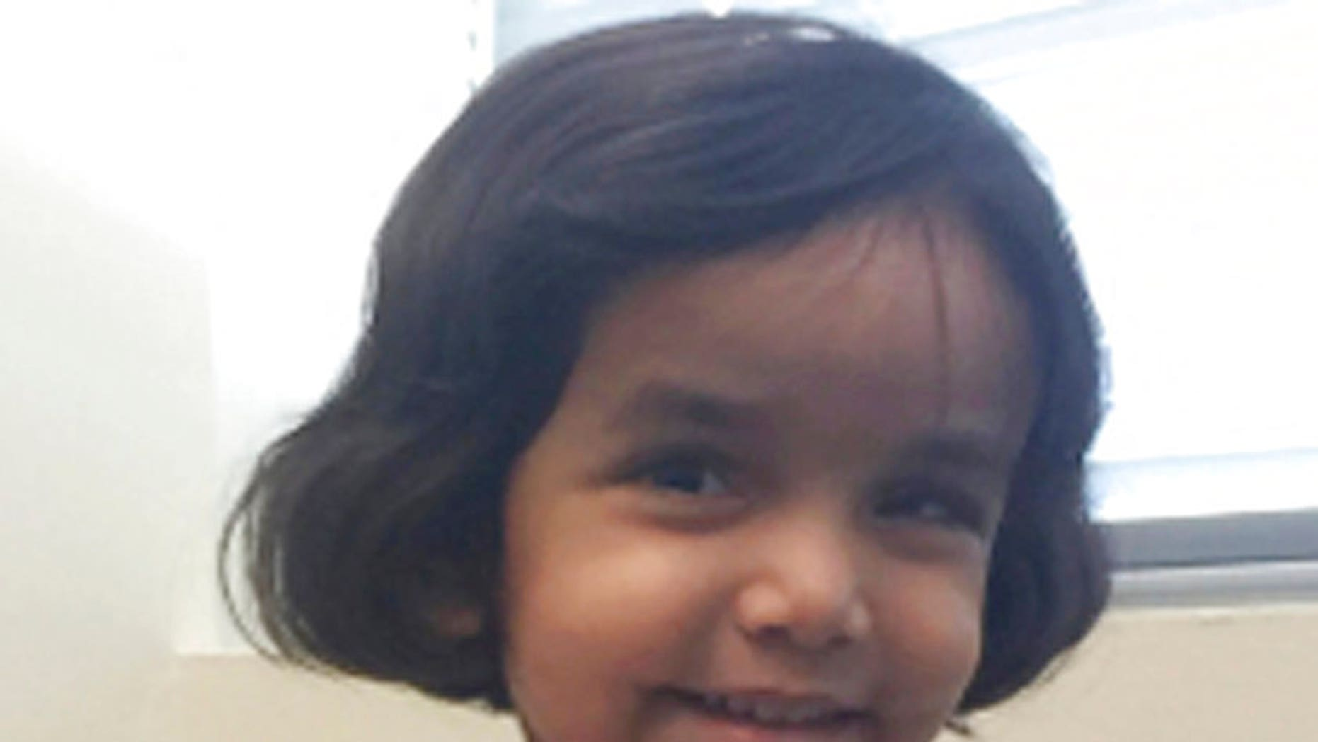 Sherin Mathews, 3, went missing Oct. 7 after her father, Wesley, left her outside in an alleyway at 3 a.m.