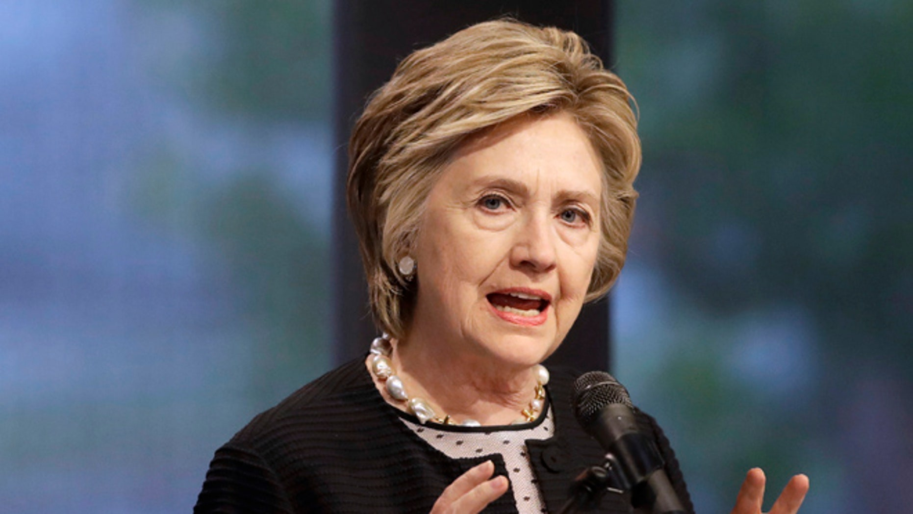"""Former Democratic presidential candidate Hillary Clinton referred to President Trump in an interview Friday as a """"sexual assaulter"""" before dismissing the past allegations of sexual impropriety against her husband as old news."""