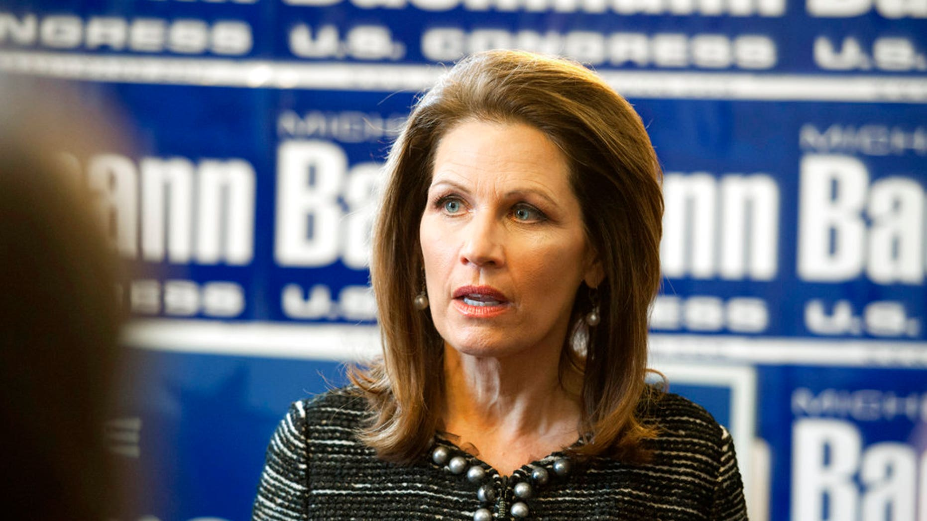 Former Minnesota congresswoman Michele Bachmann said Tuesday that she's mulling the possibility of running for Al Franken's Senate seat.