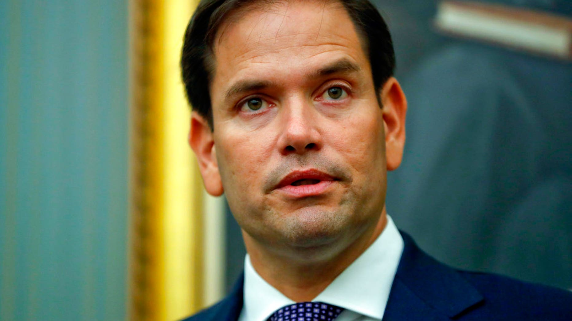 """U.S. Sen. Marco Rubio, R-Fla., says he has fired his chief of staff after reports of """"improper conduct"""" with staffers."""