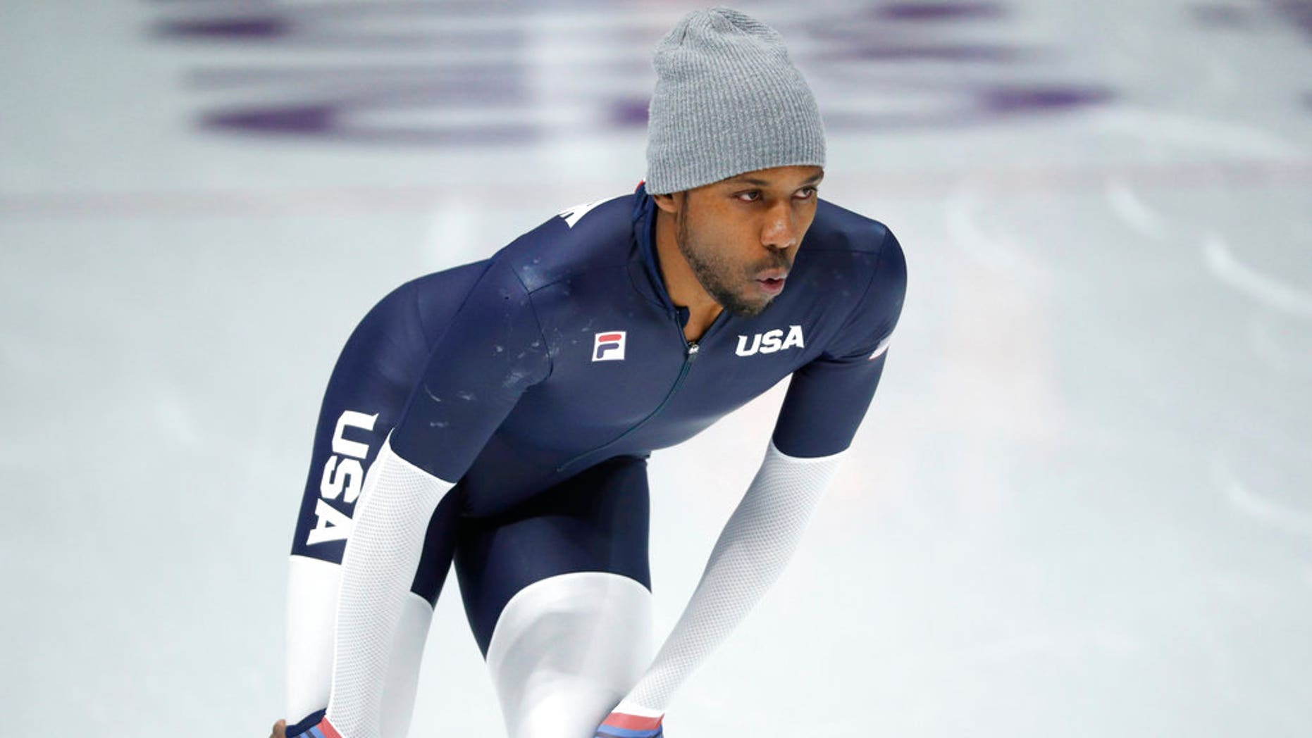 U.S. speedskater Shani Davis expressed frustration for not being chosen Team USA's flag bearer for Friday's opening ceremony at the Winter Olympics in South Korea.