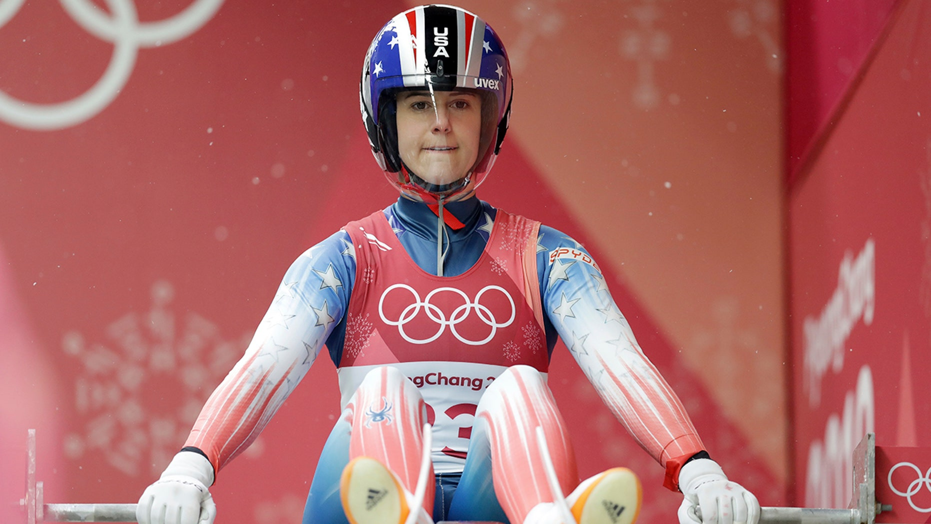 American luger Emily Sweeney suffered a horrific crash in her final run at the 2018 Winter Olympics in Pyeonchang, South Korea.
