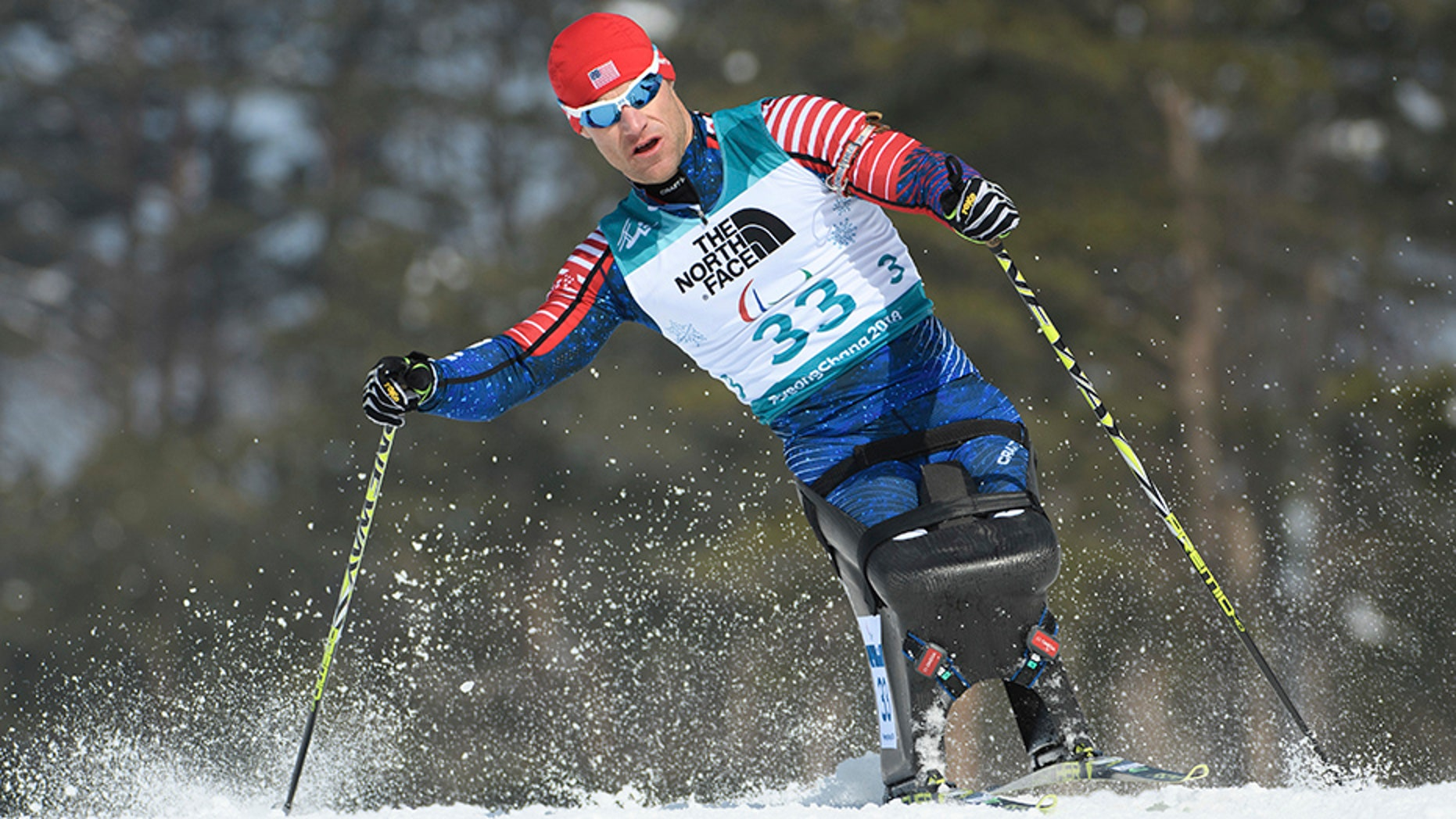 Dan Cnossen earned a gold medal in the first men's biathlon event of the PyeongChang Paralympics.