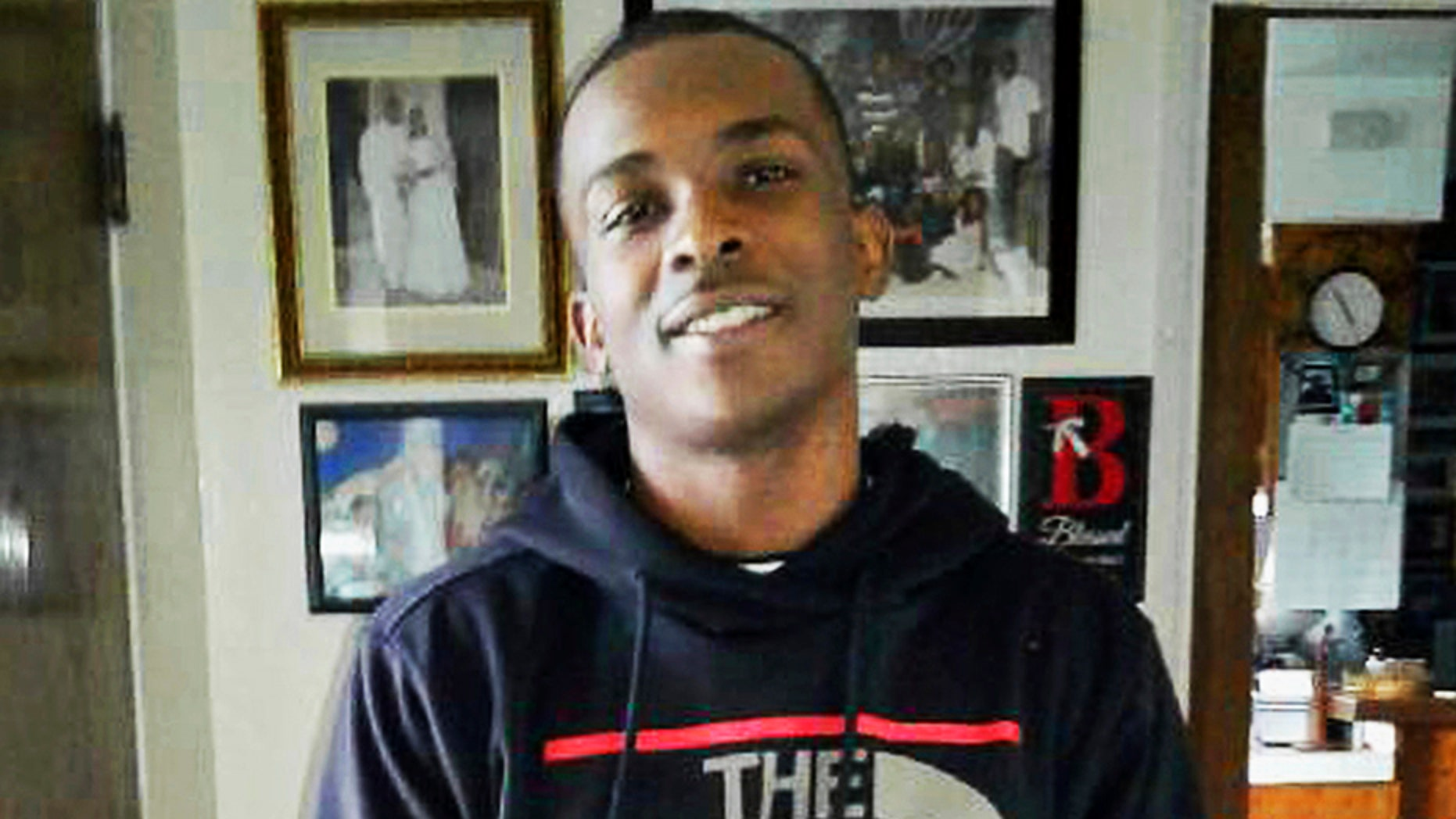Stephon Clark he died in a hail of police gunfire in the backyard of his grandmother Sequita Thompson's home in Sacramento, Calif.