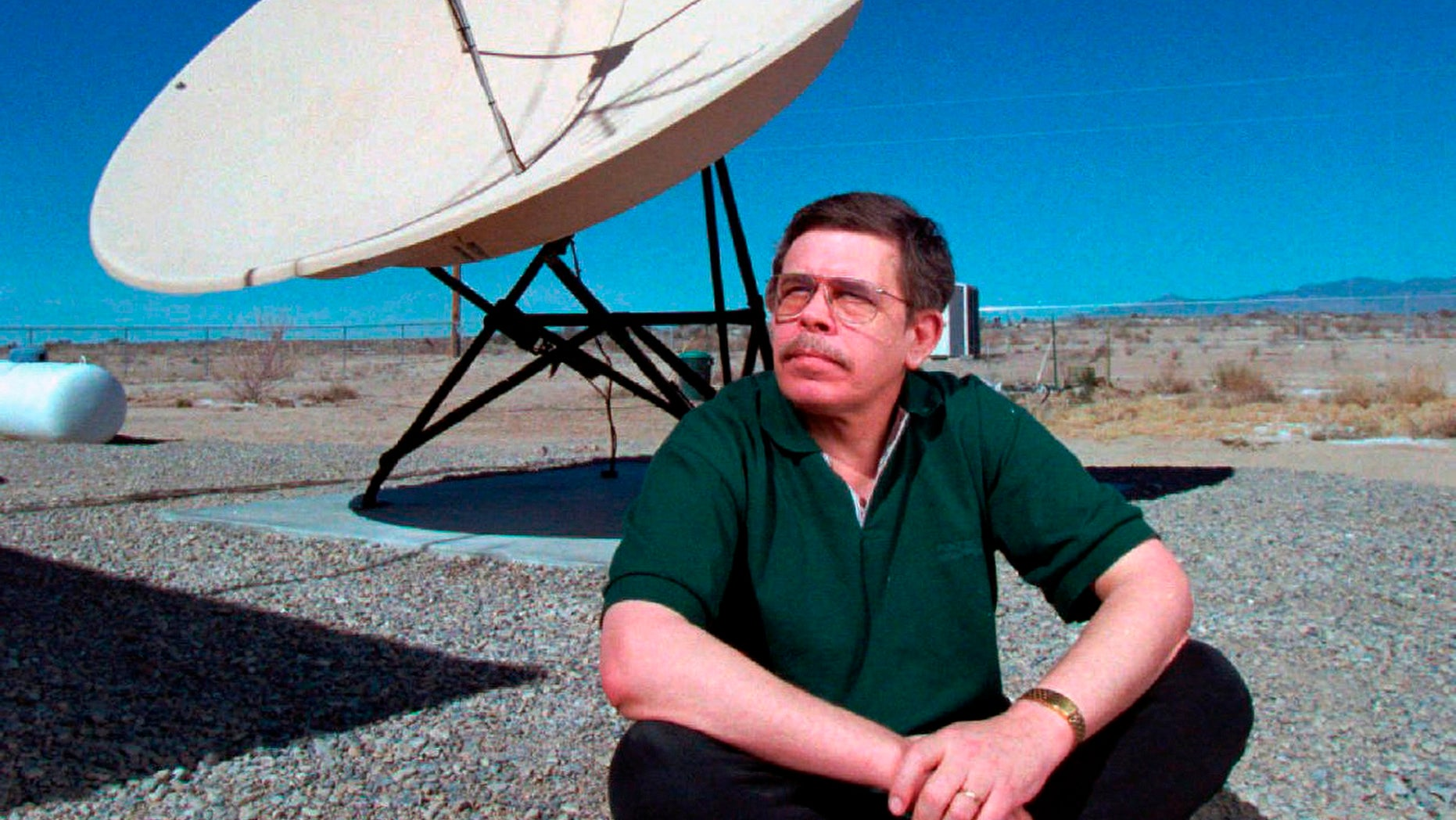Art Bell, seen in this March 1997 photo, died Friday, Nye County Sheriff Sharon Wehrly confirmed. Bell's fans may pause to mull the significance of his having passed on Friday the 13th, of all days.