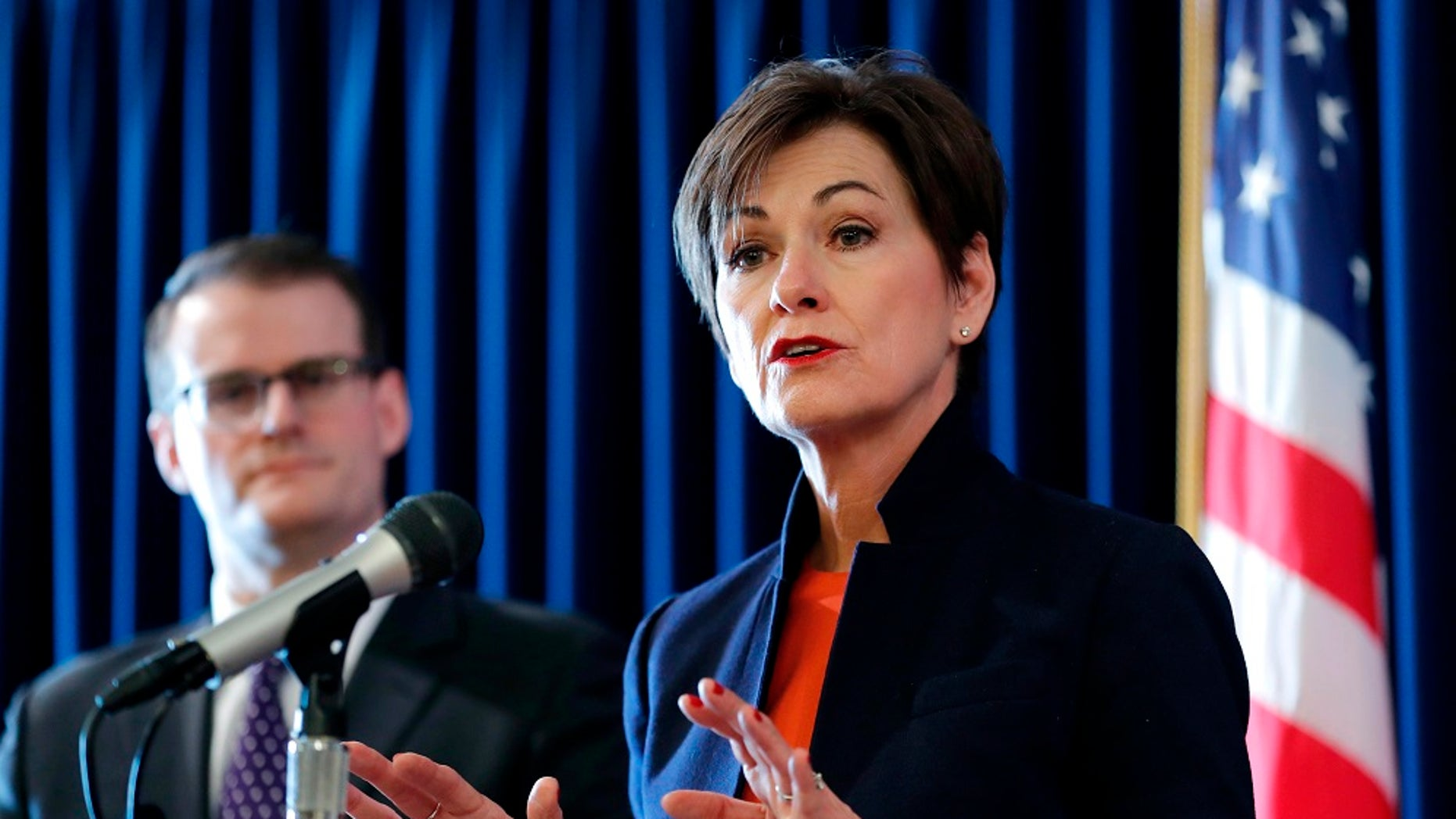 Iowa Gov. Kim Reynolds has not said whether or not she plans to sign the bill into law.