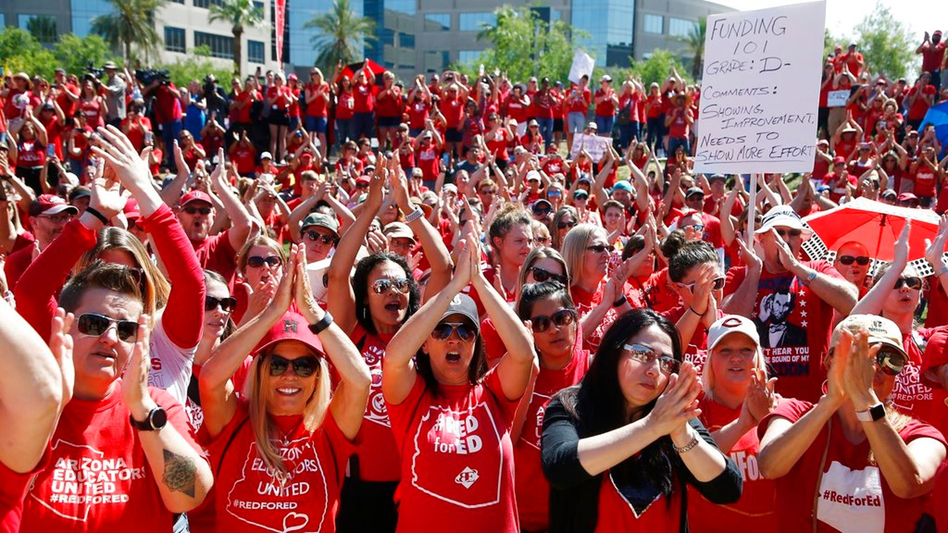 A six-day teacher strike in Arizona ended Thursday after the governor approved a raise for the educators.