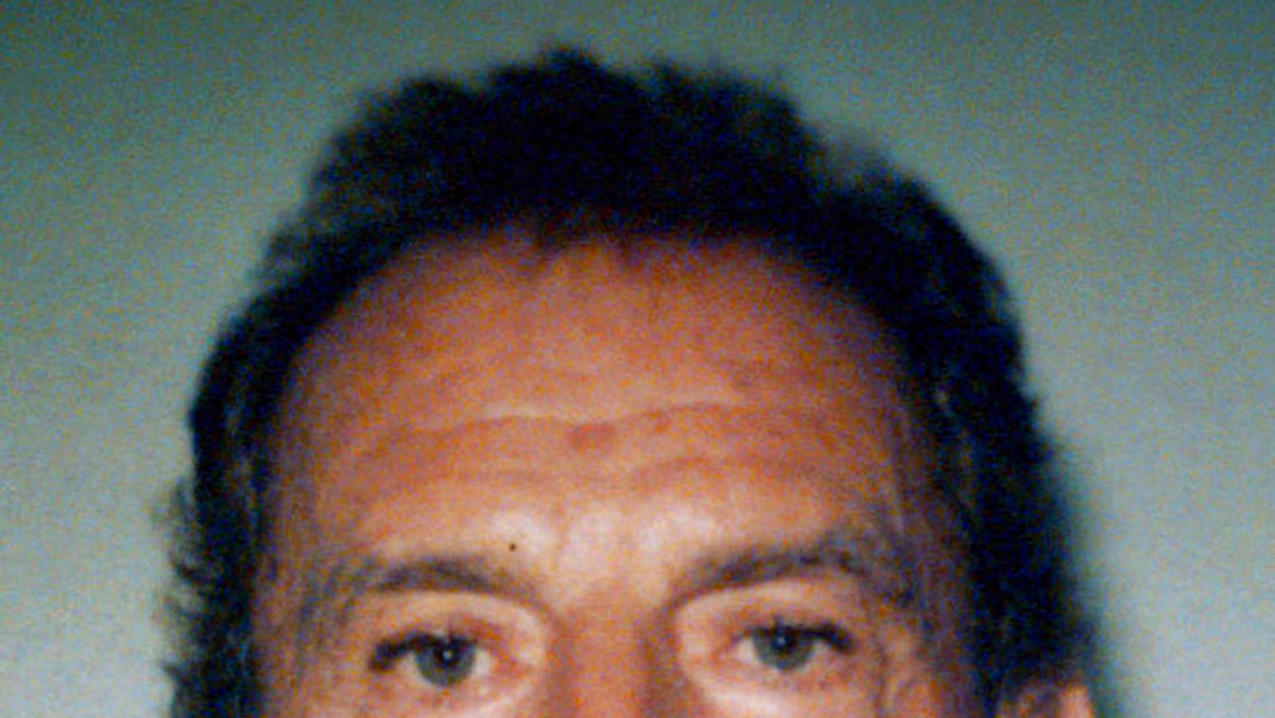 "Francis ""Cadillac Frank"" Salemme, a former mob boss, is seen in a 1995 file booking photo taken in West Palm, Fla."