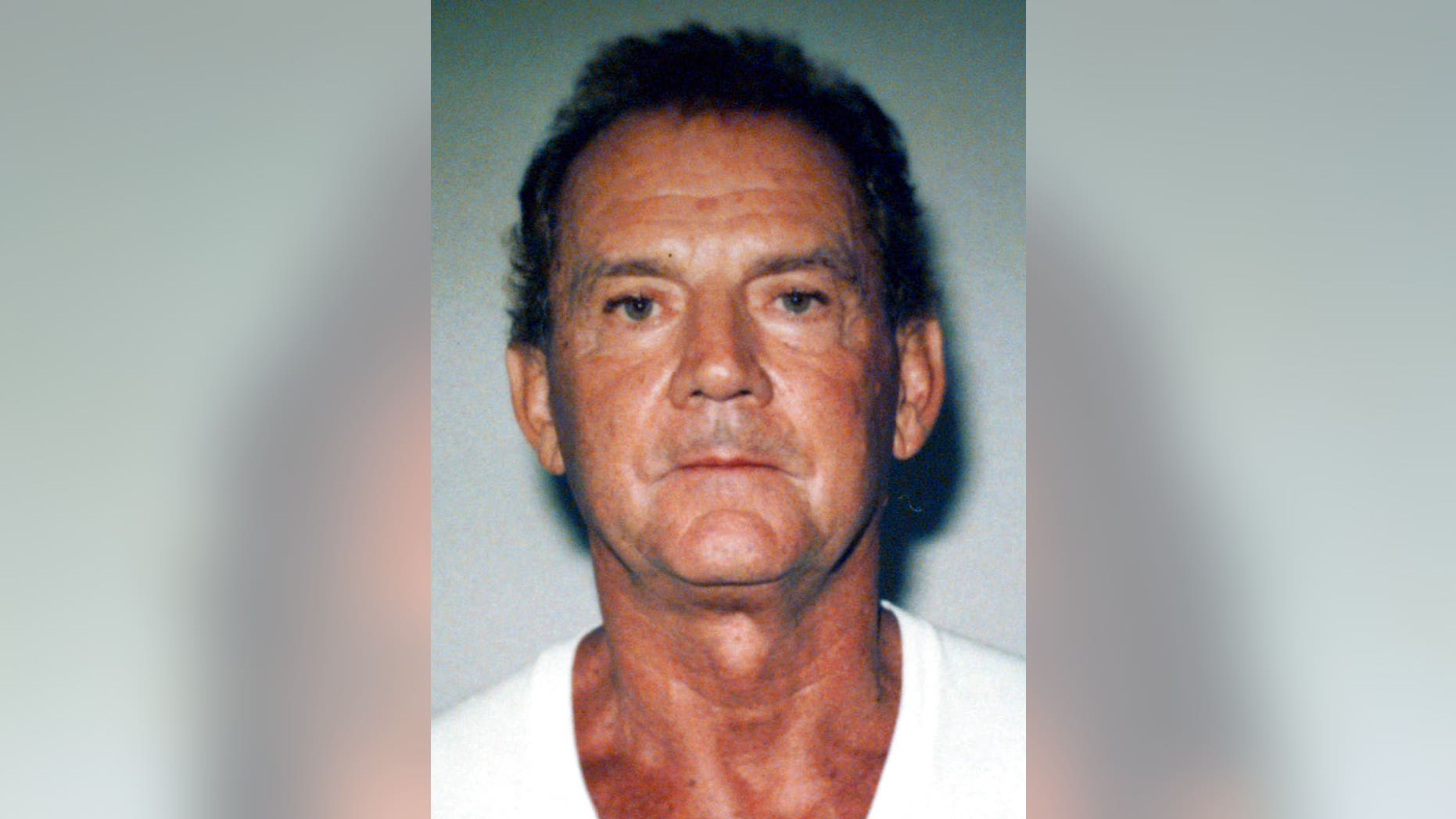 """Francis """"Cadillac Frank"""" Salemme, a former mob boss, is seen in a 1995 file booking photo taken in West Palm, Fla."""