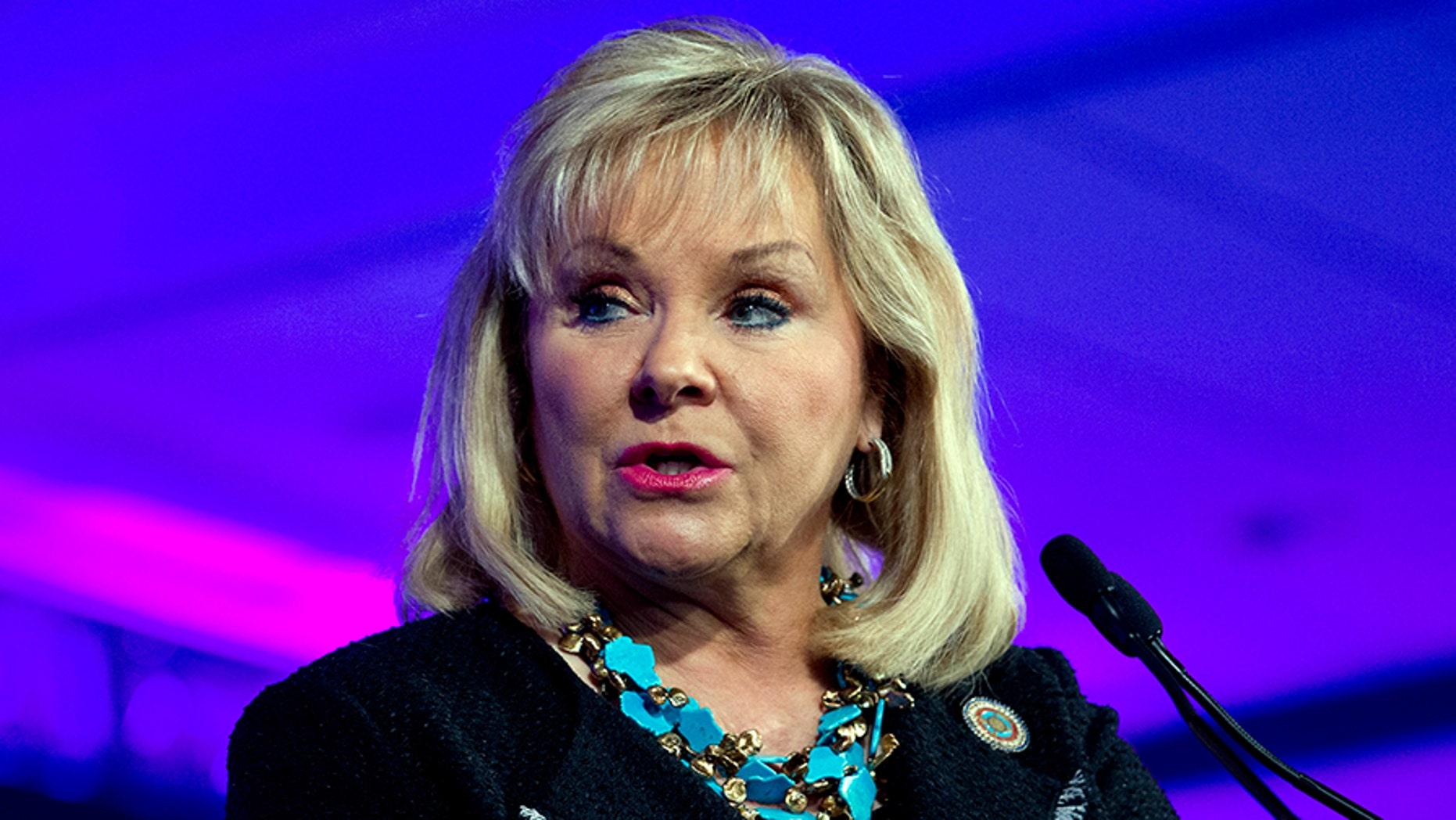 Oklahoma Gov. Mary Fallin vetoed the bill late Friday.