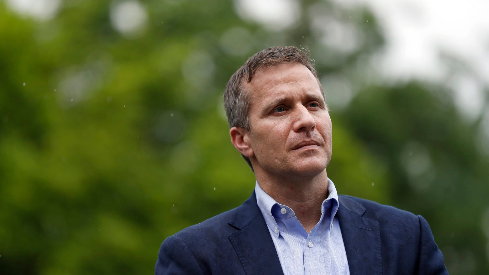 """The woman who accused Missouri Gov. Eric Greitens of becoming violent and engaging in non-consensual acts during an affair is sticking by her story, telling a local news outlet she hopes """"to heal."""""""