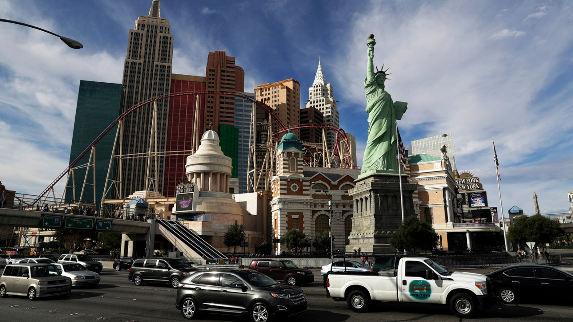 FILE 2017: The New York New York hotel and casino on the Las Vegas Strip.