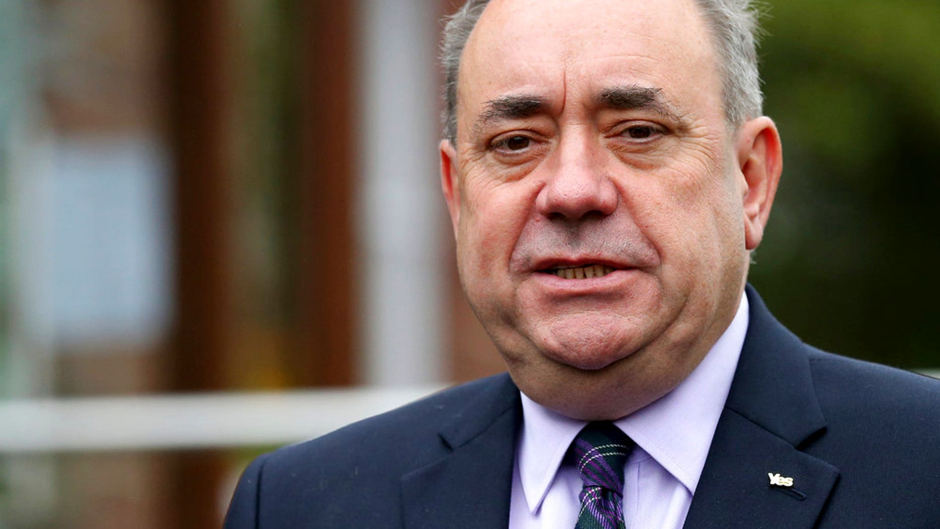 Scotland's former First Minister Alex Salmond has announced he is resigning from the Scottish National Party after allegations he sexually harassed two members of staff emerged; he has denied the allegations