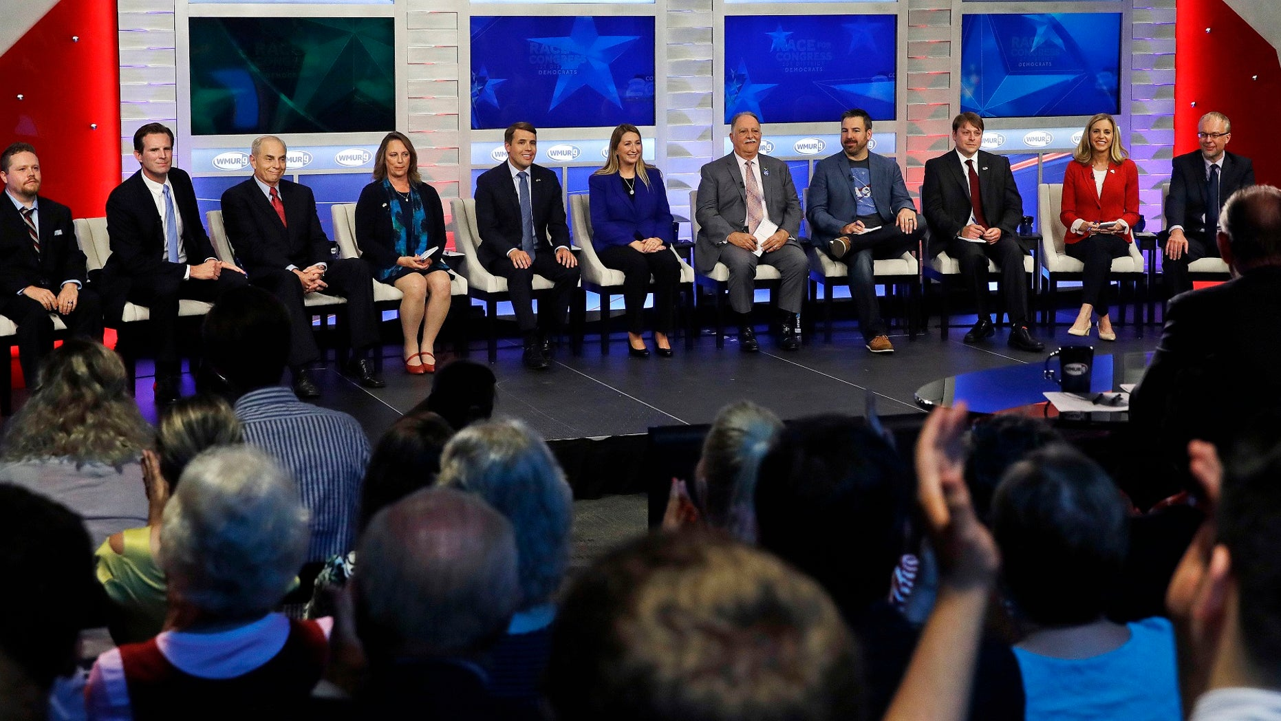 There are 11 Democrats vying for the open U.S. House seat in New Hampshire's 1st congressional district. On the other side of the aisle, five Republicans are battling it out for the GOP nomination for the seat.