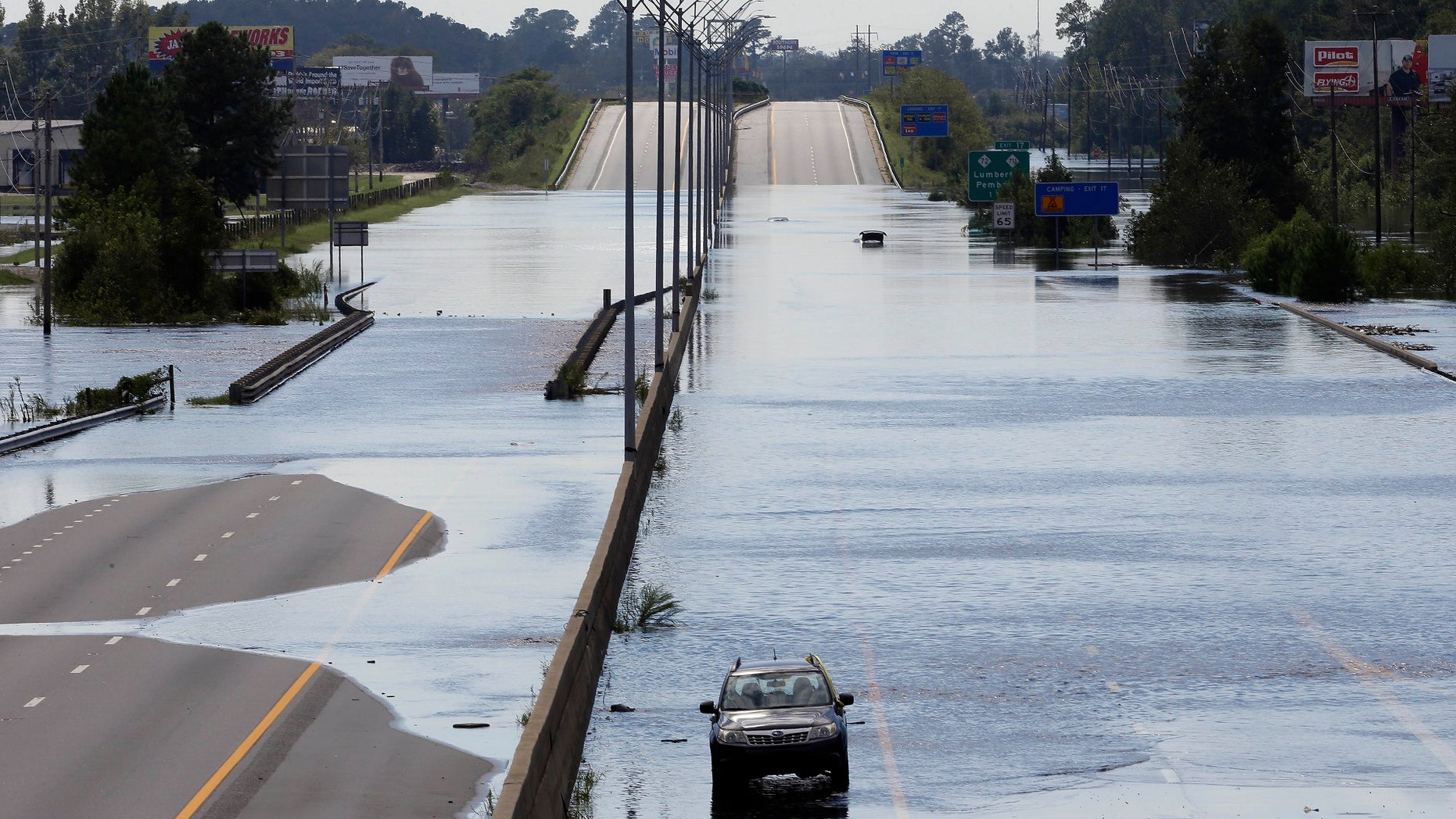 Navigation apps like Waze are trying to help motorists avoid hurricane flooding, but local authorities say people shouldn't rely on them