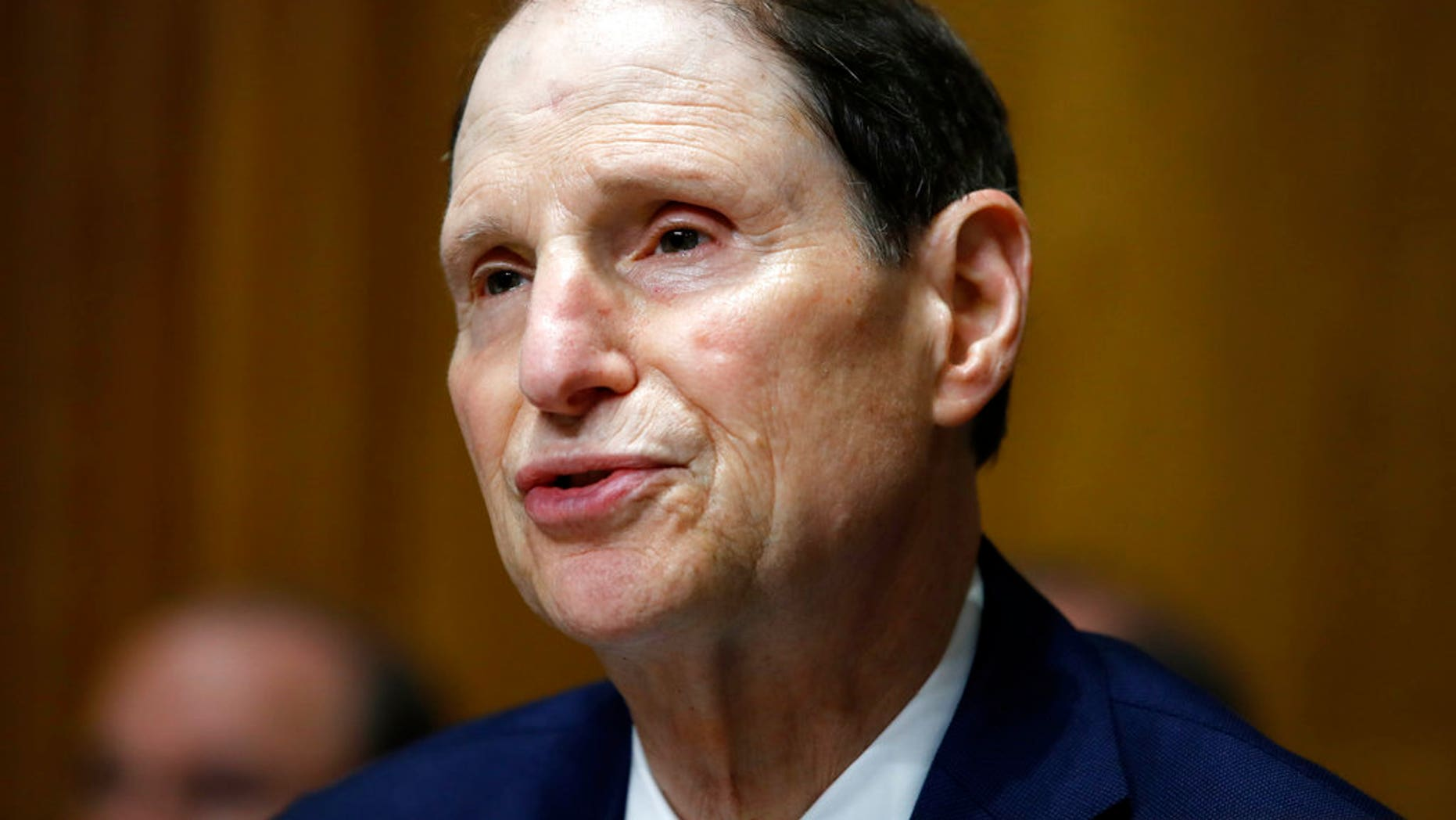 Sen. Ron Wyden, D-Ore., said in a letter to U.S. Senate leaders that hackers working on behalf of a foreign government are still targeting the personal account of senators and their aides.