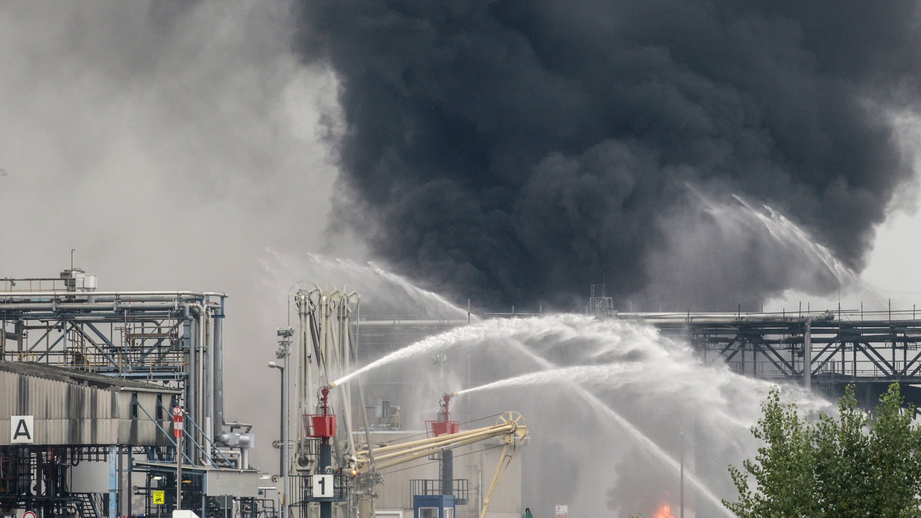 Explosion at BASF plant, Germany