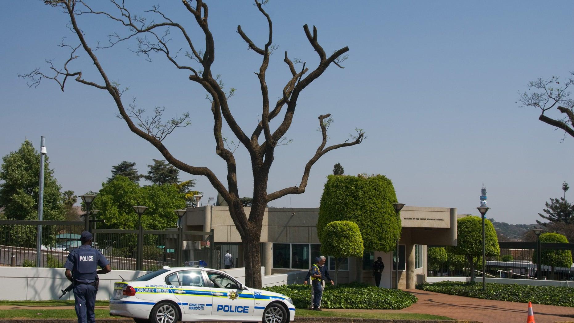 The U.S. Embassy in Pretoria, in 2009.