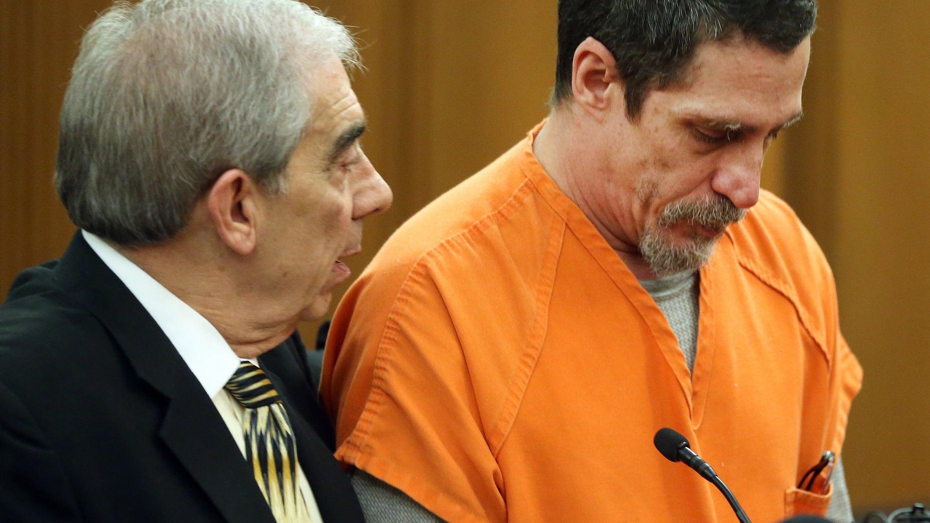 Bobby Hernandez in court Wednesday.