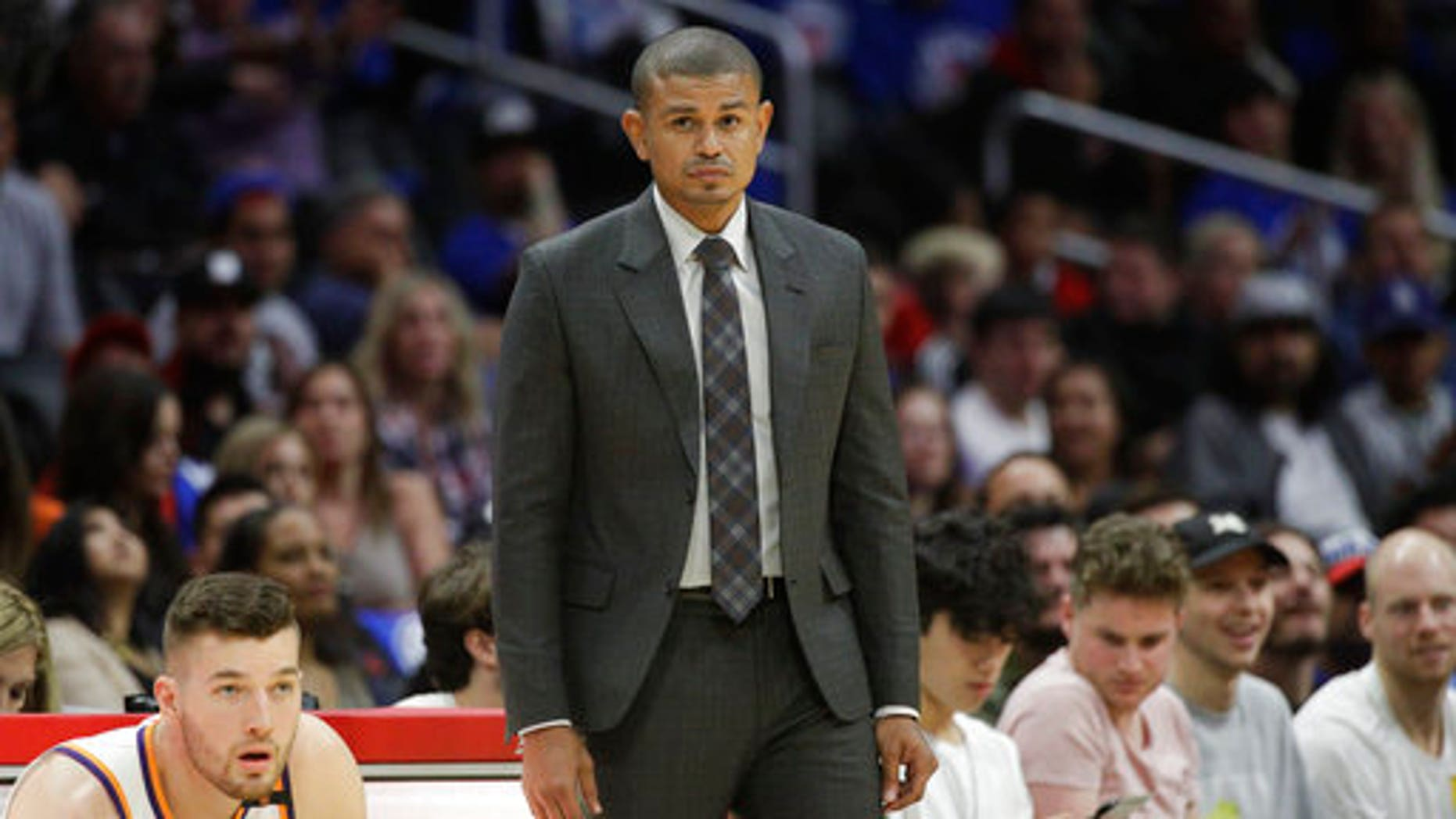 Earl Watson was fired by the Phoenix Suns as head coach just three games in to the NBA season.
