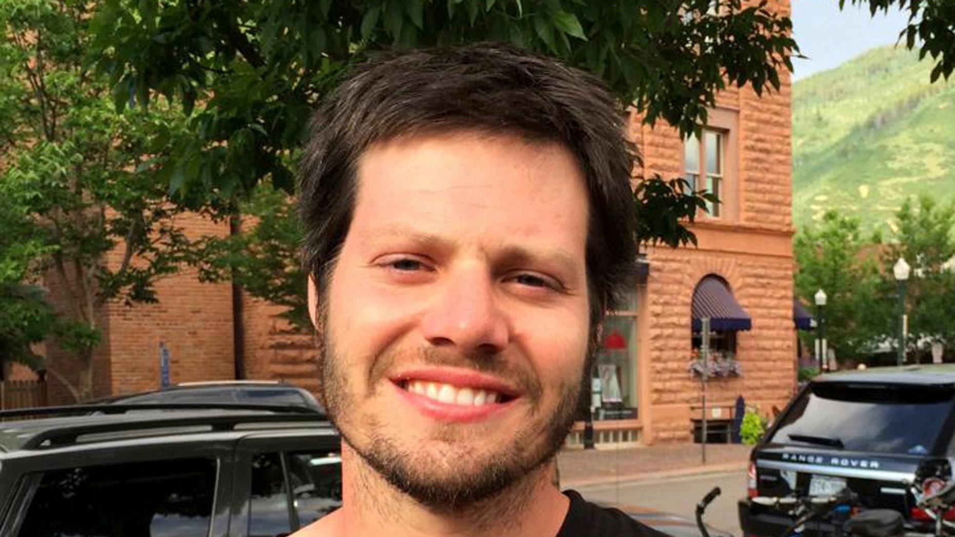 Harrison Fast in July 2015.