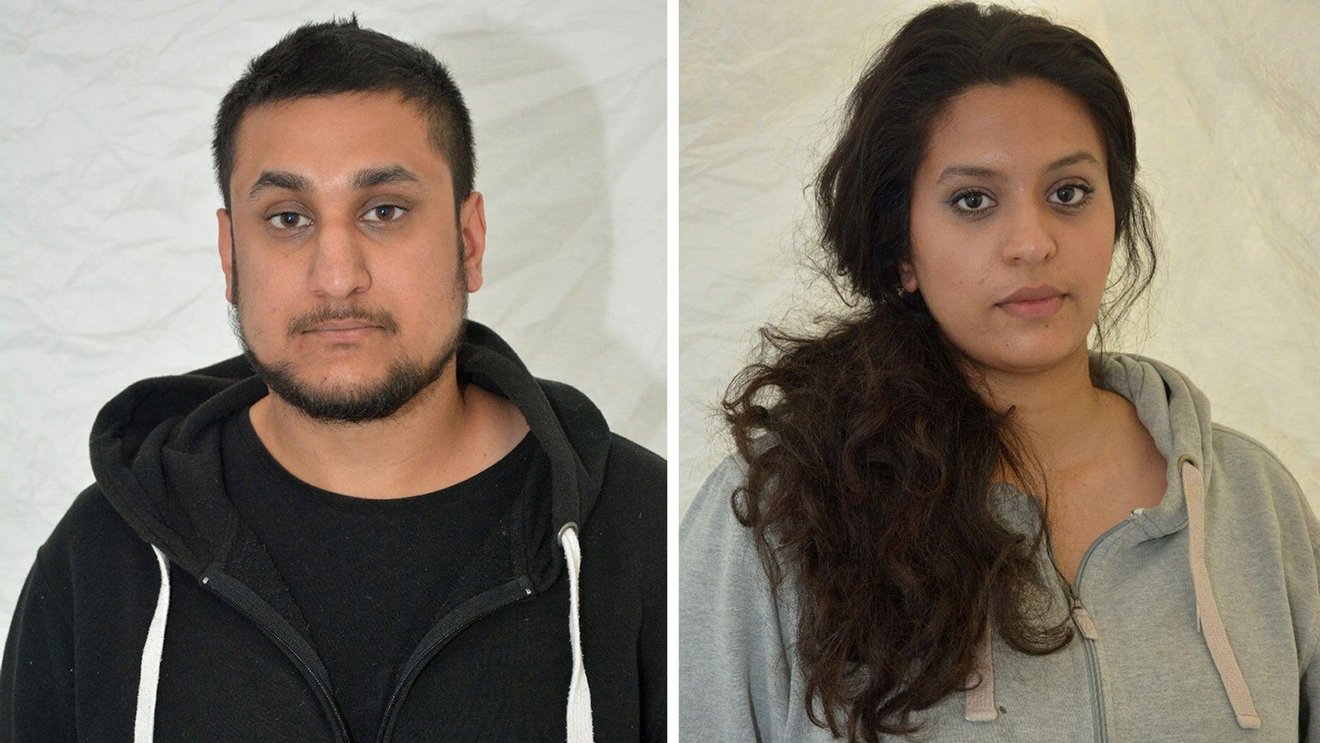 Mohammed Rehman and his wife, Sana Ahmed Khan.
