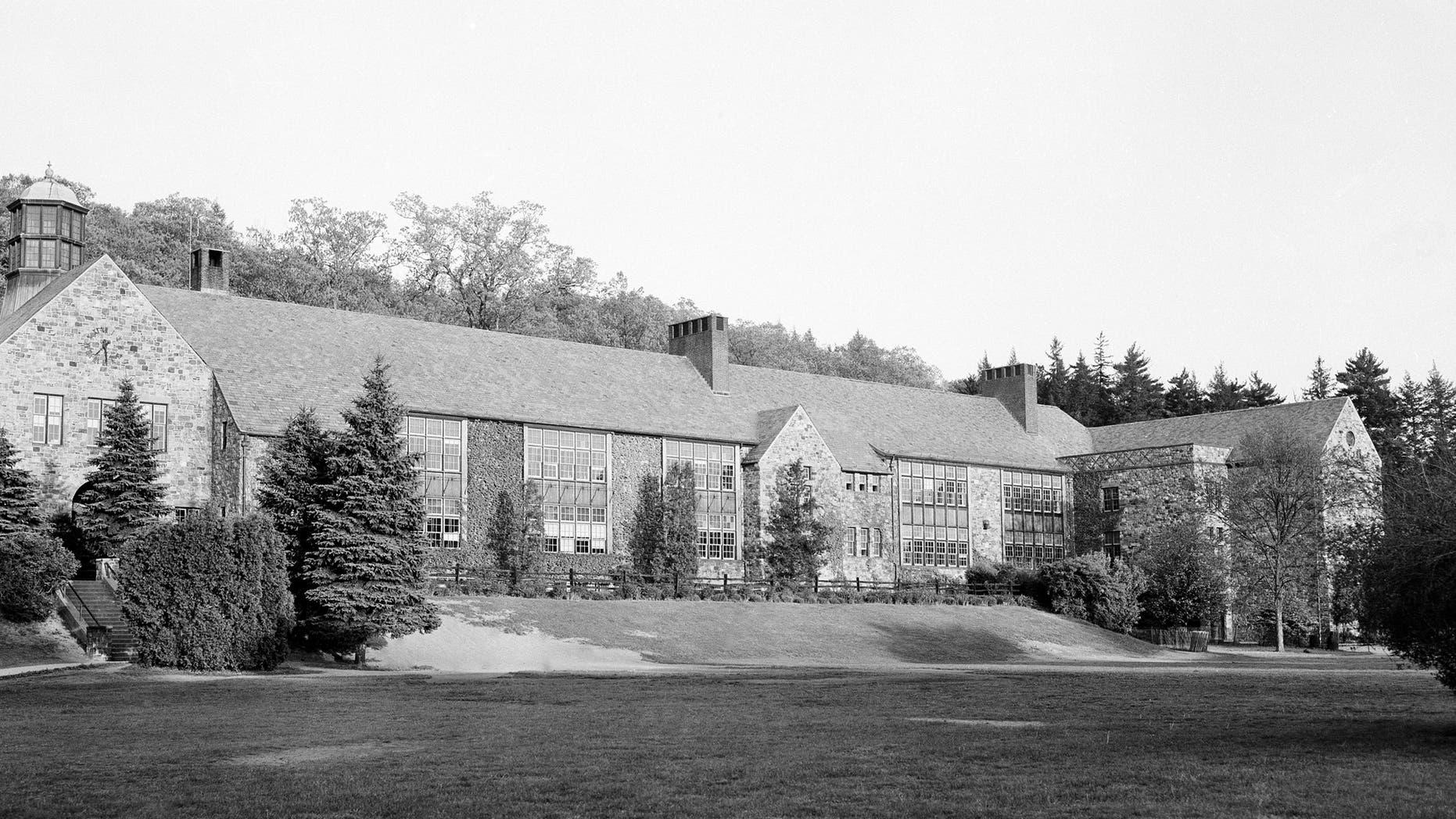 Horace Greeley High School in 1956.