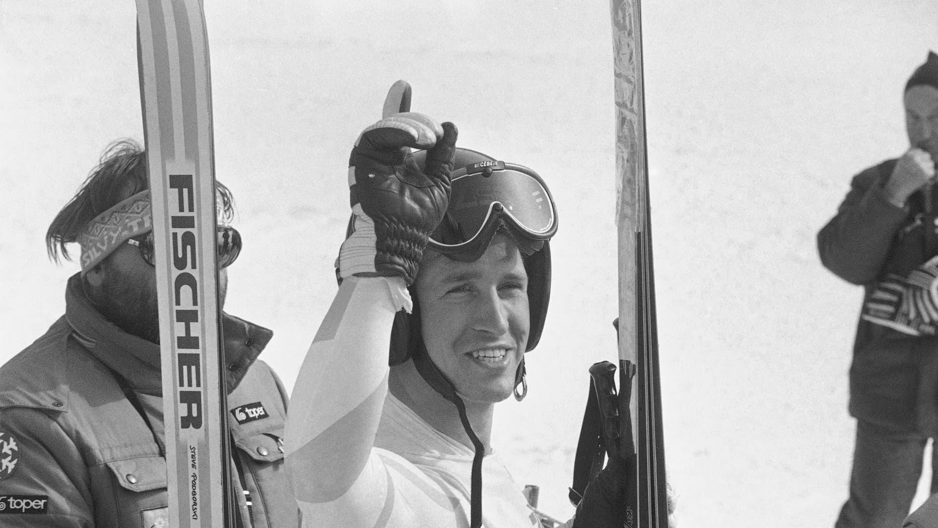 Bill Johnson in 1984.
