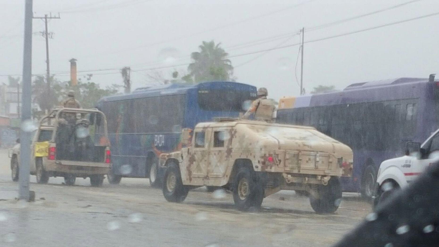 Preparations for Tropical Storm Javier in Baja California.