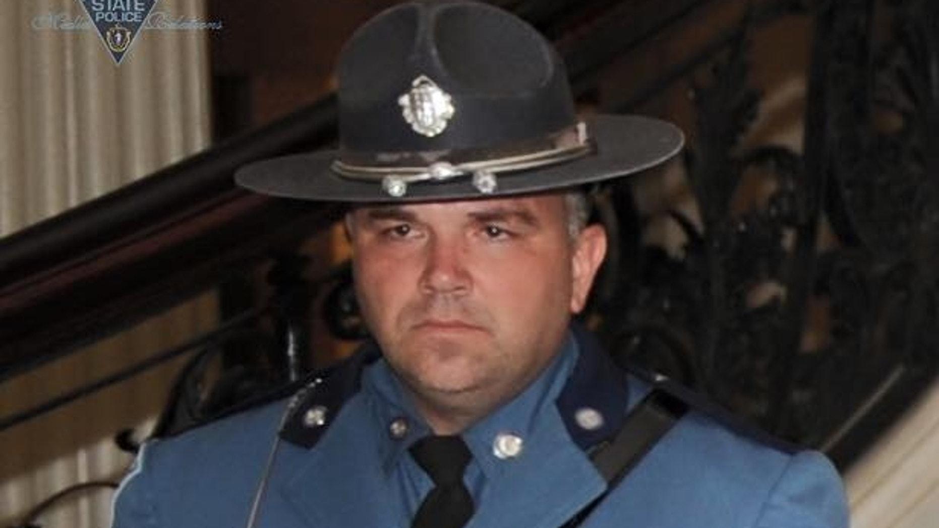 Massachusetts State Police trooper Thomas Clardy.
