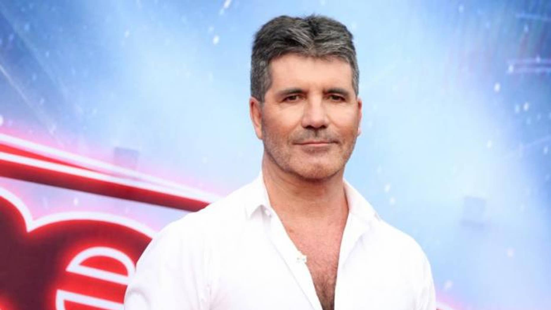 """Simon Cowell got emotional during an audition on """"Britain's Got Talent."""""""