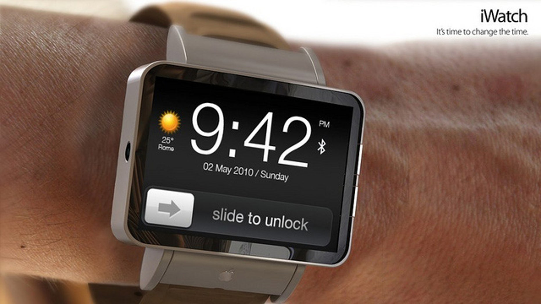 Antonio De Rosa's photo-realistic concept could be a good approximation of what to expect from an Apple iWatch.