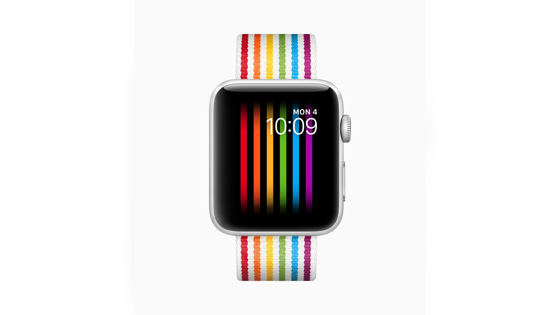 The Apple Watch Pride face that was launched in June (Apple)